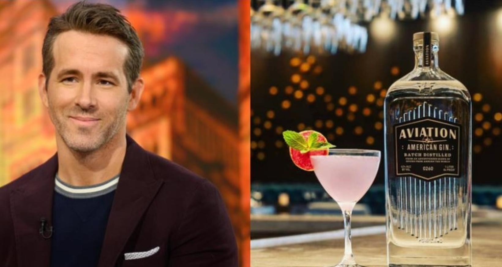 Árið 2017 var Ryan Reynolds staddur á bar í Vancouver …