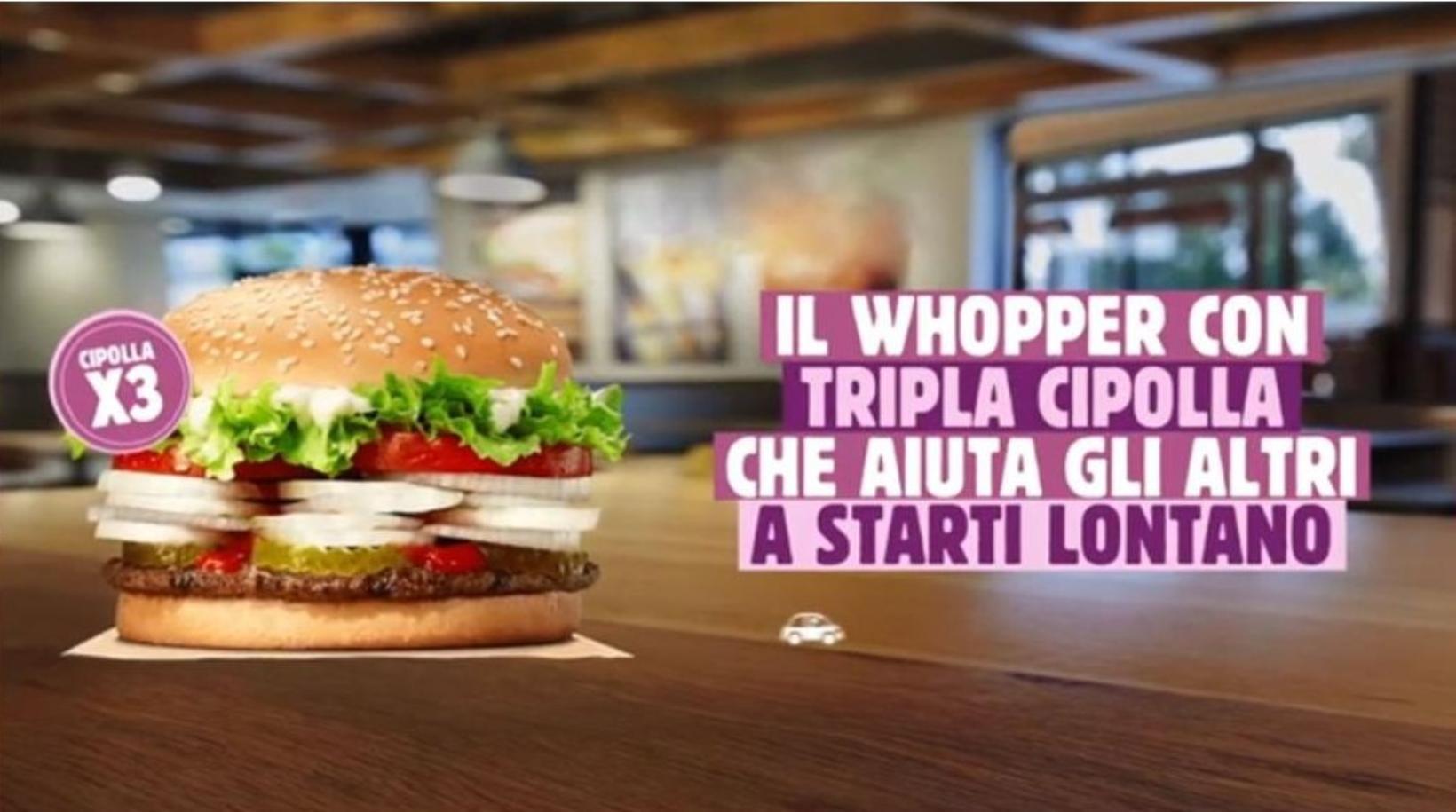 Burger King á Ítalíu fann upp á hamborgara sem heldur …
