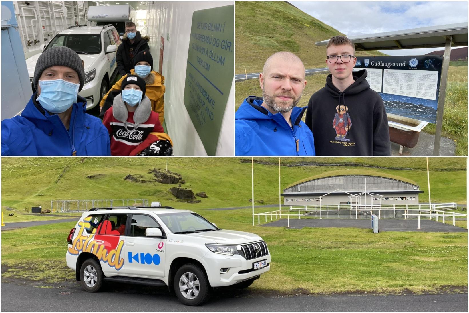 Eyþór og fjölskylda hefðu viljað verja meiri tíma í Vestmannaeyjum.