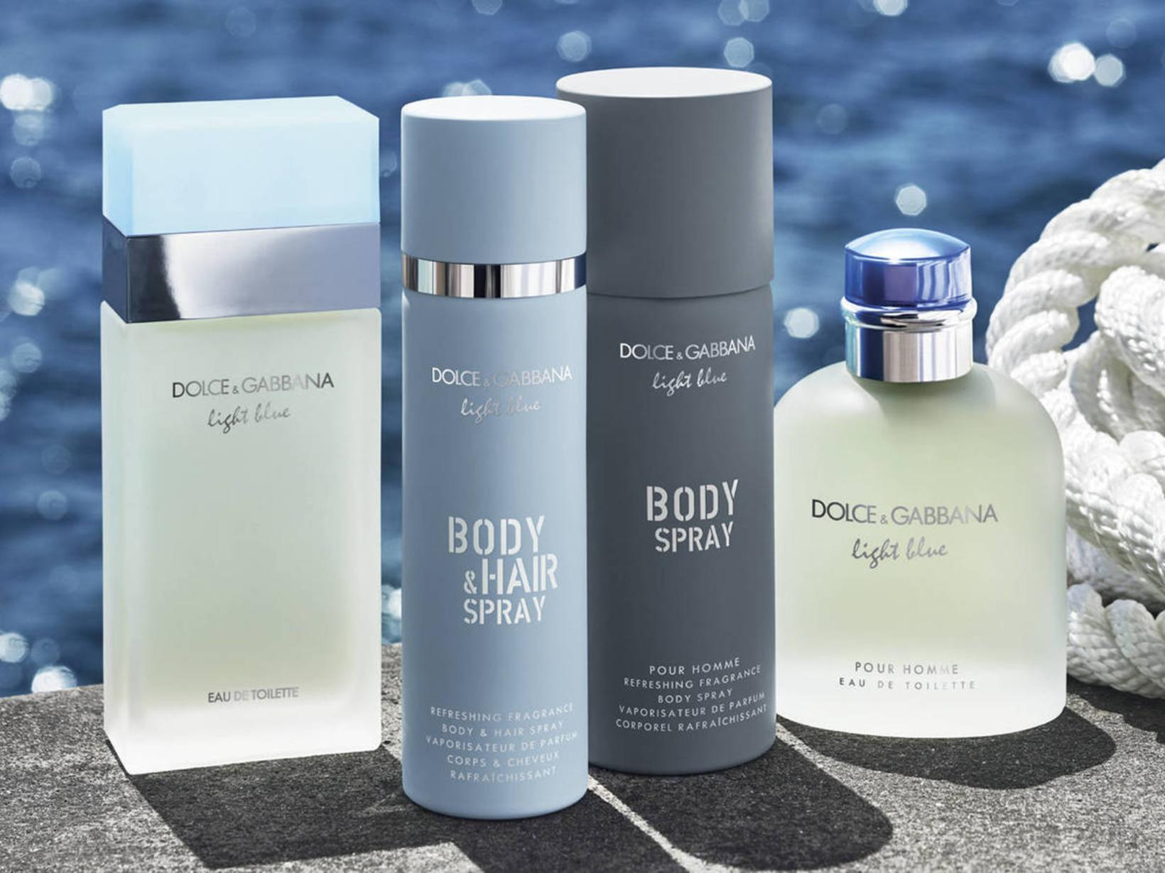 Dolce & Gabbana Light Blue Body & Hair Spray fyrir …