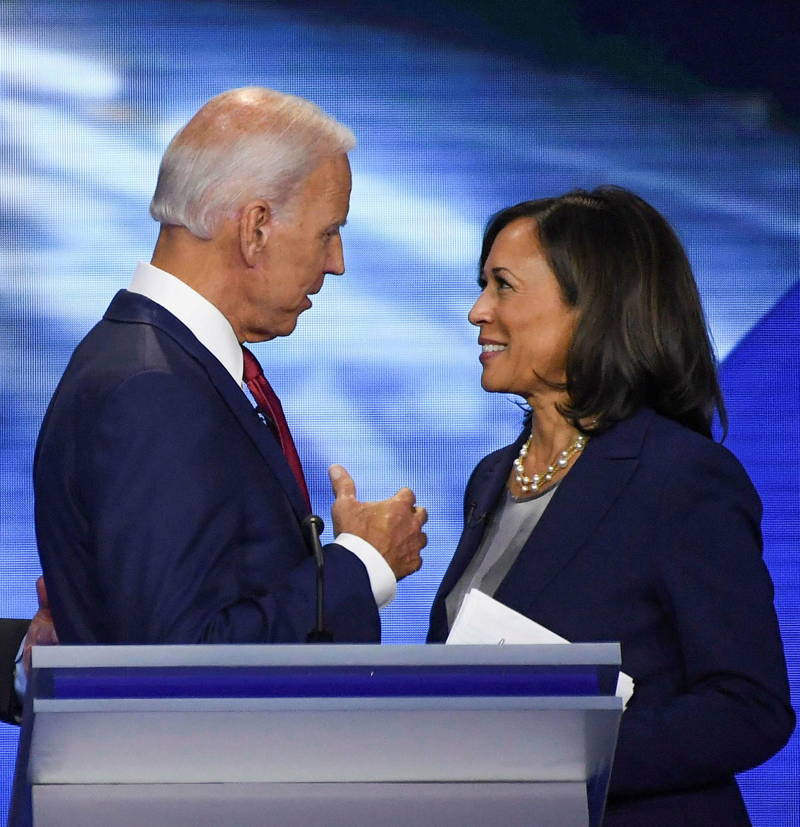 Joe Biden og Kamala Harris.