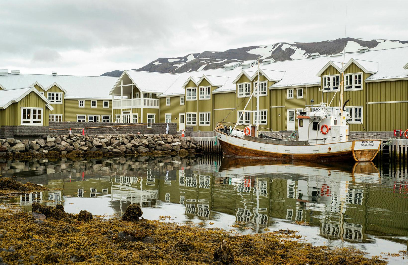 Hótel Sigló á Siglufirði er einstaklega rómantískt hótel.