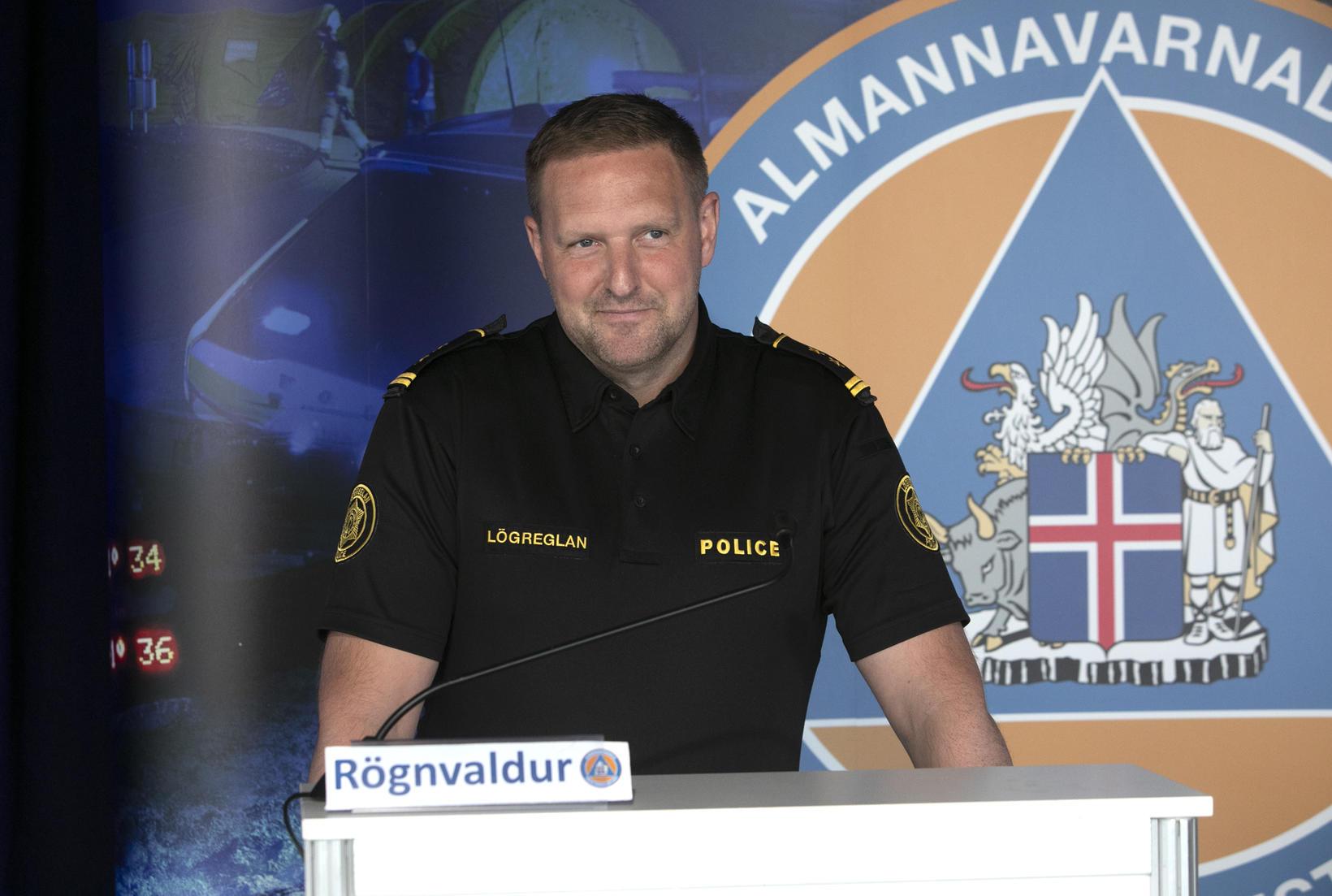 Chief Inspector Rögnvaldur Ólafsson.