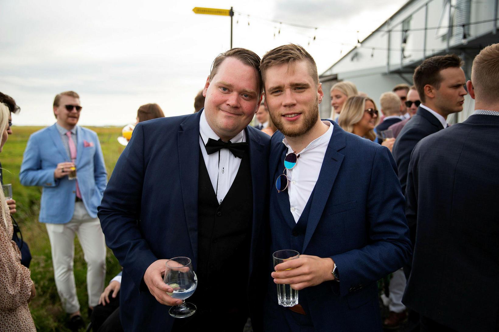 Janus Arn Guðmundsson og Þengill Björnsson.