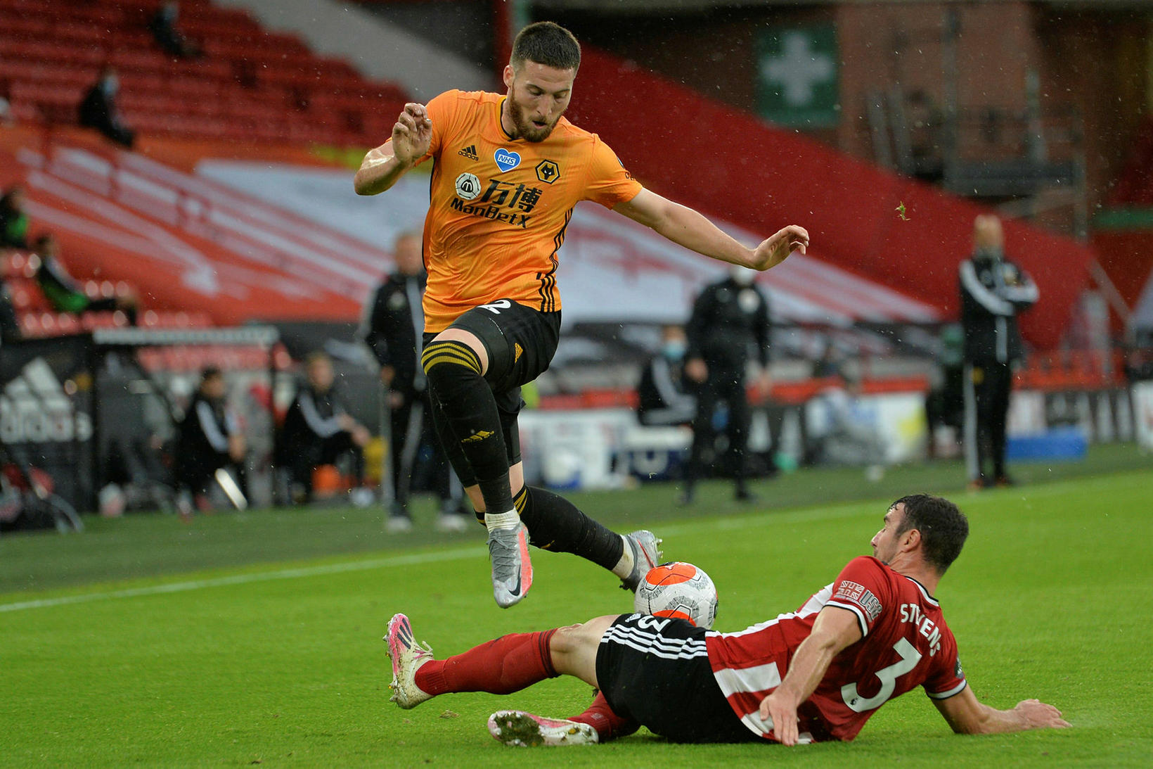 Írski varnarmaðurinn Matt Doherty er kominn til Tottenham frá Wolves …