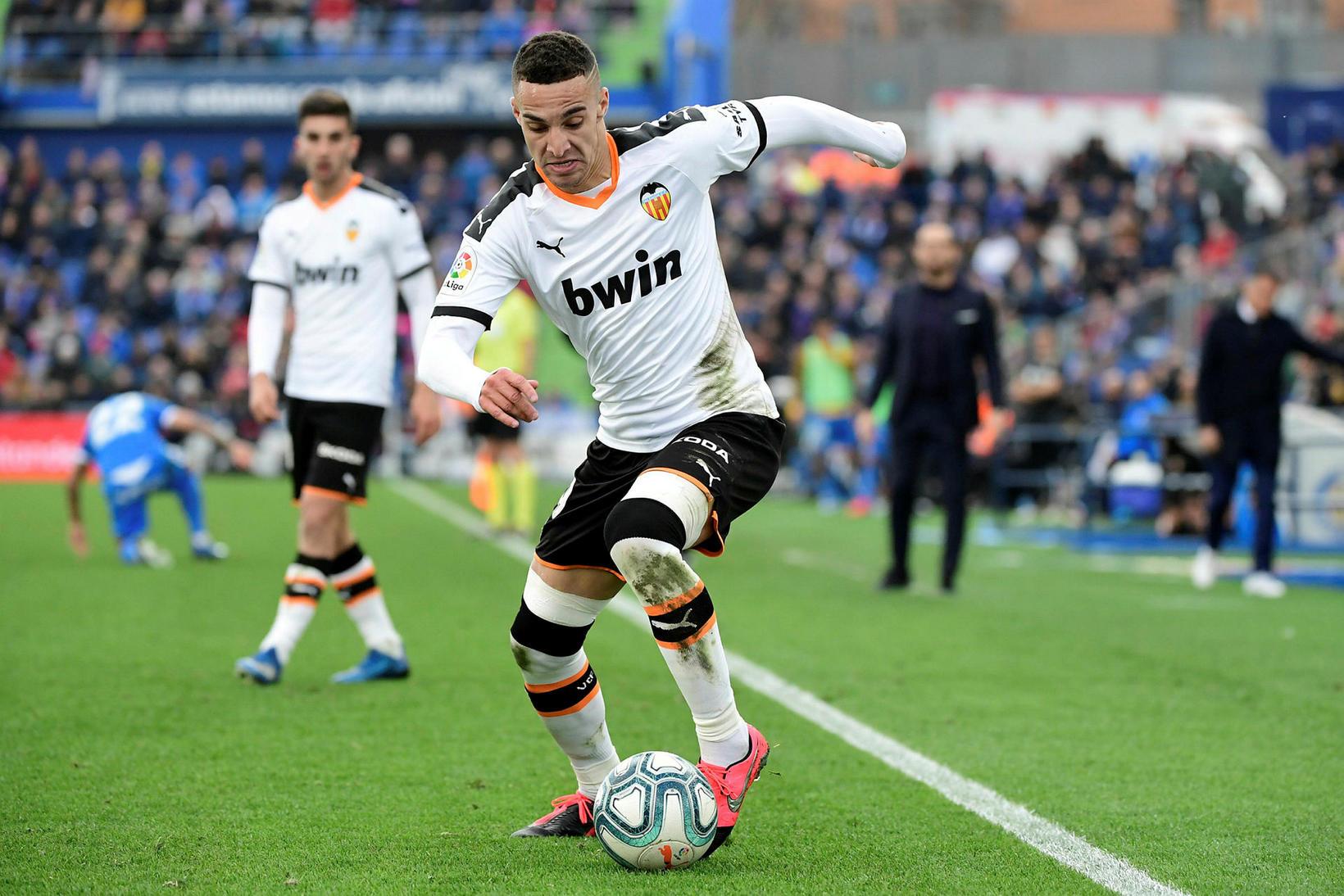 Spænski framherjinn Rodrigo Moreno er kominn til Leeds frá Valencia …