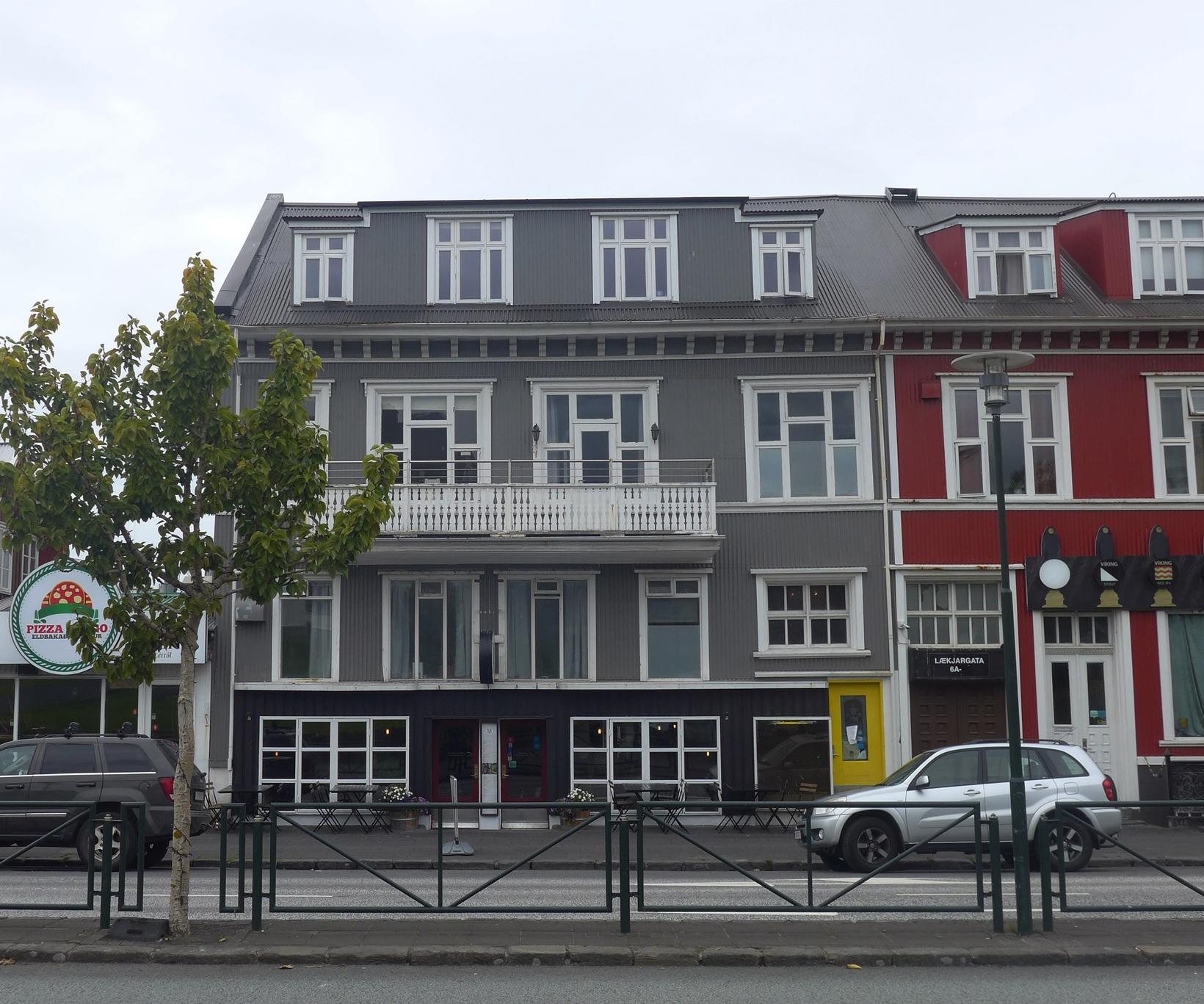 Centric Guesthouse, Lækjargata.