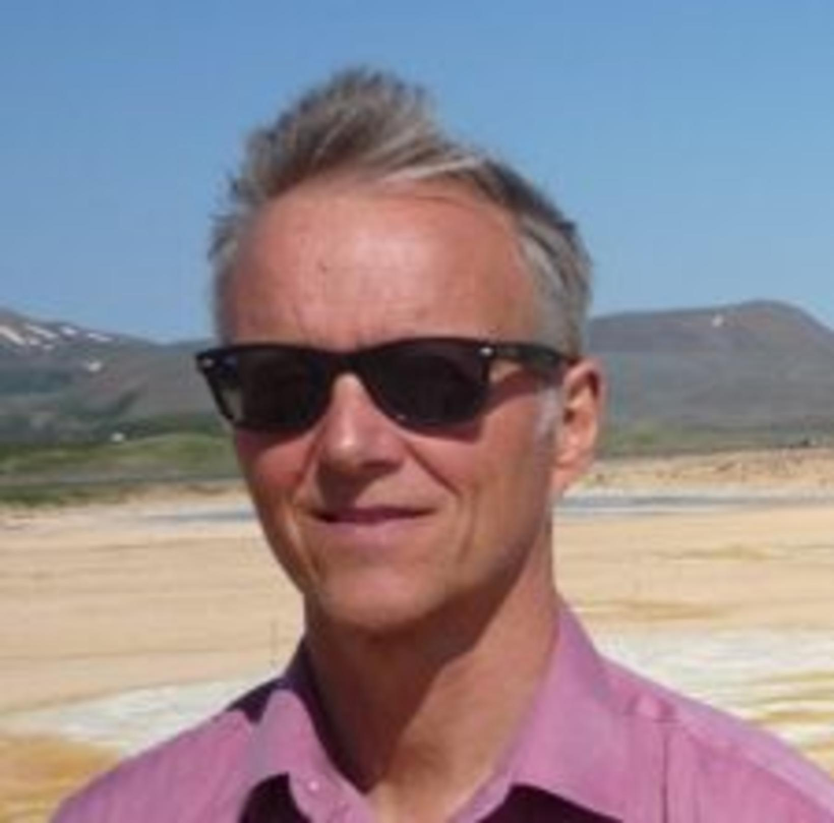 Björn Birnir, prófessor við Kaliforníuháskóla.