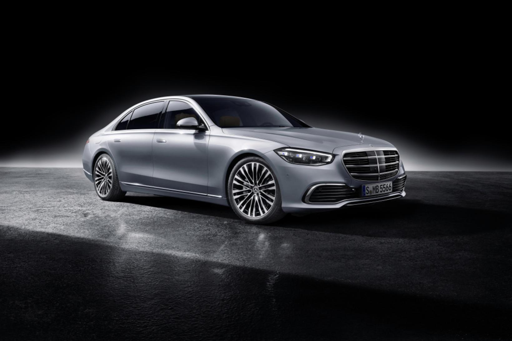 Hinn nýi Mercedes-Benz S-Class sem frumsýnd var í gær.