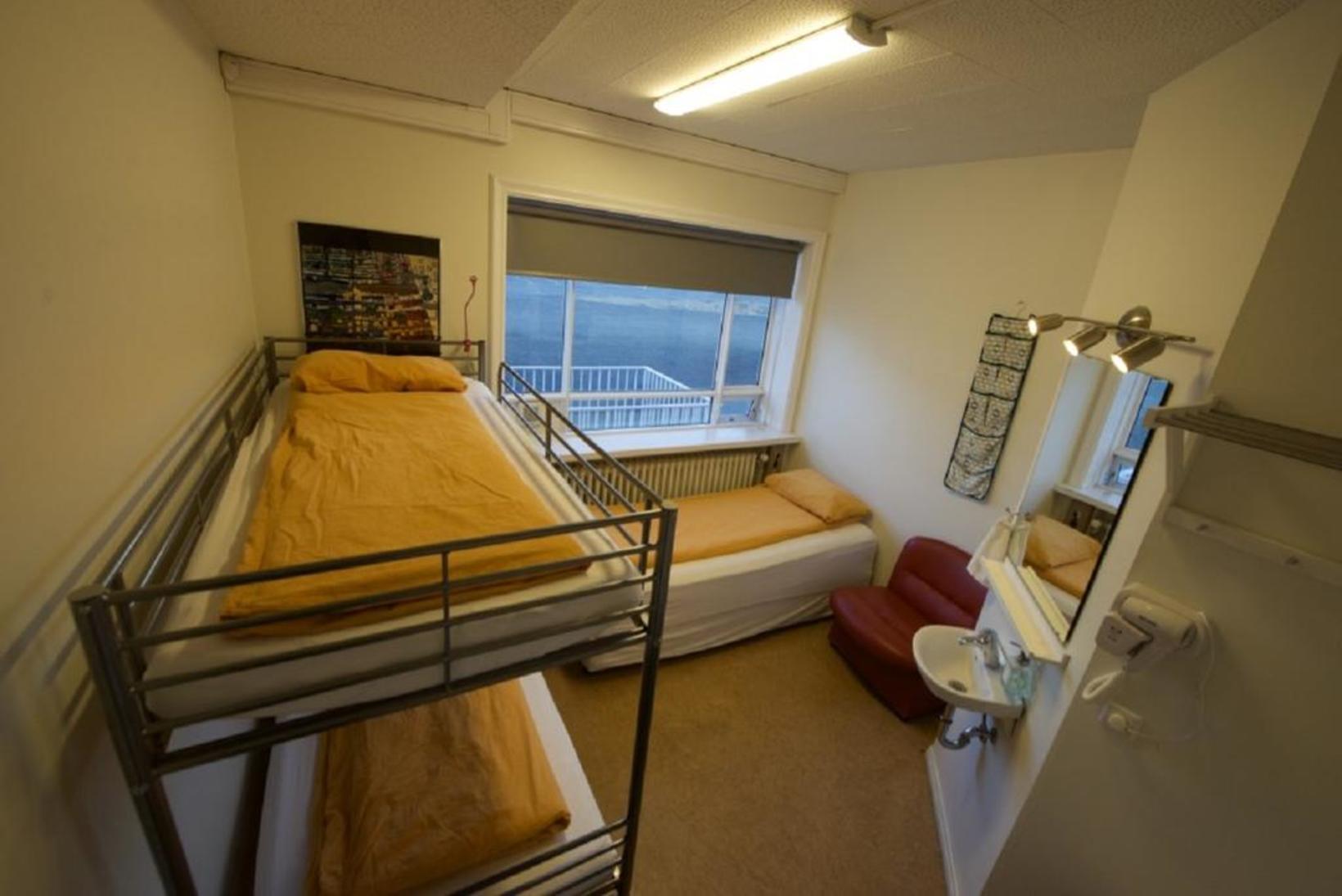 A room at Hostel B47.