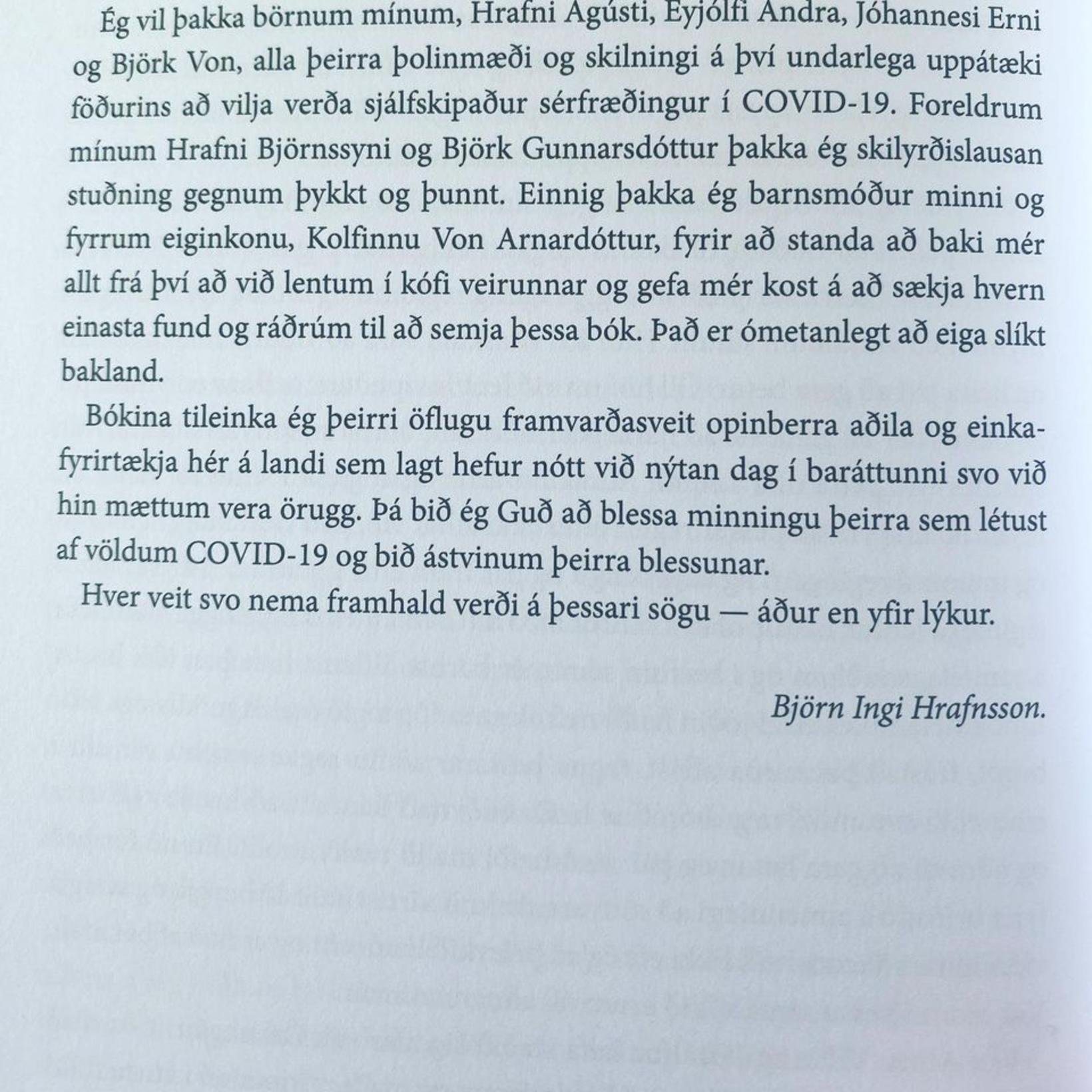 Þessa mynd birti Kolfinna Von á Facebook-síðu sinni.