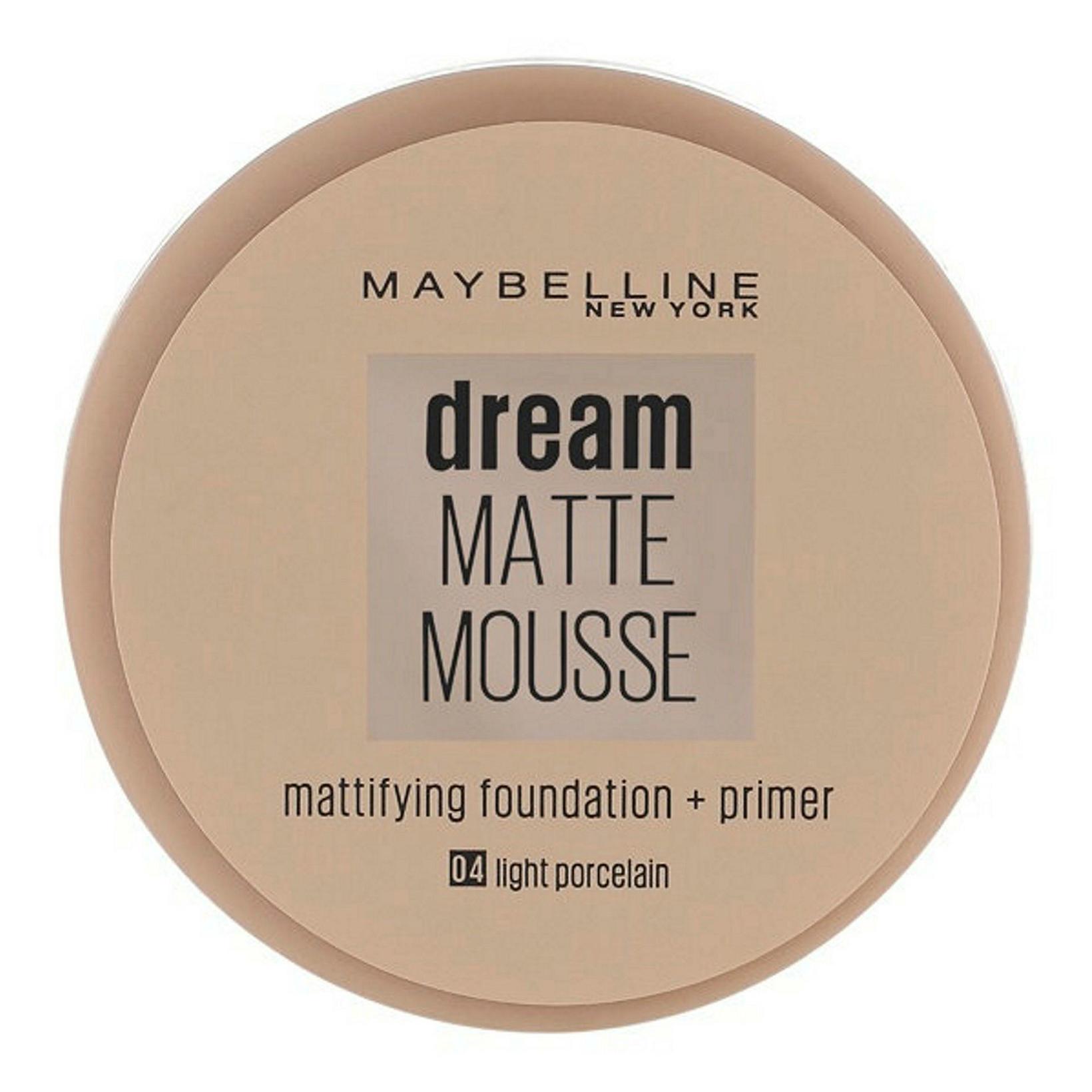 Una notaði lengi Dream Matte Mousse frá Maybelline.