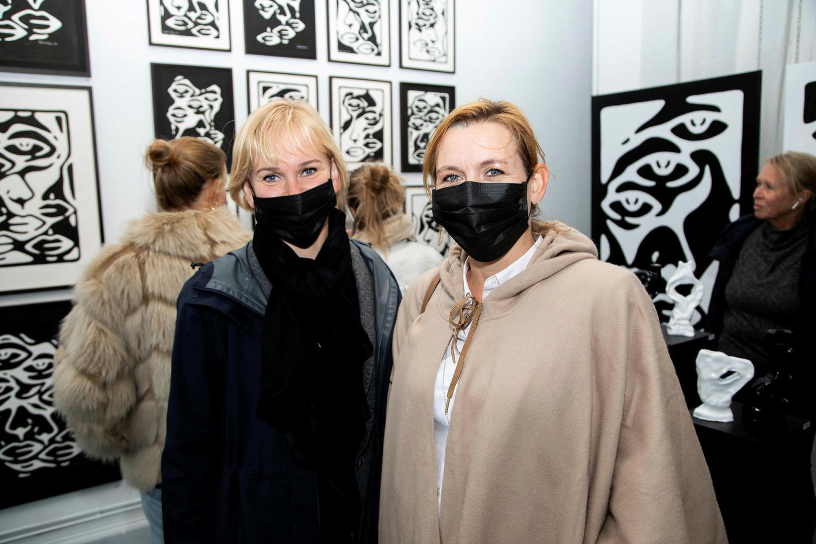 Helena Árnadótti og Edda Björk Skúladóttir.