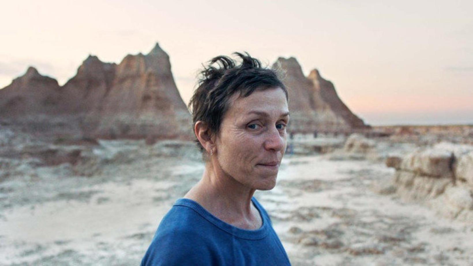 Frances McDormand í Nomadland.