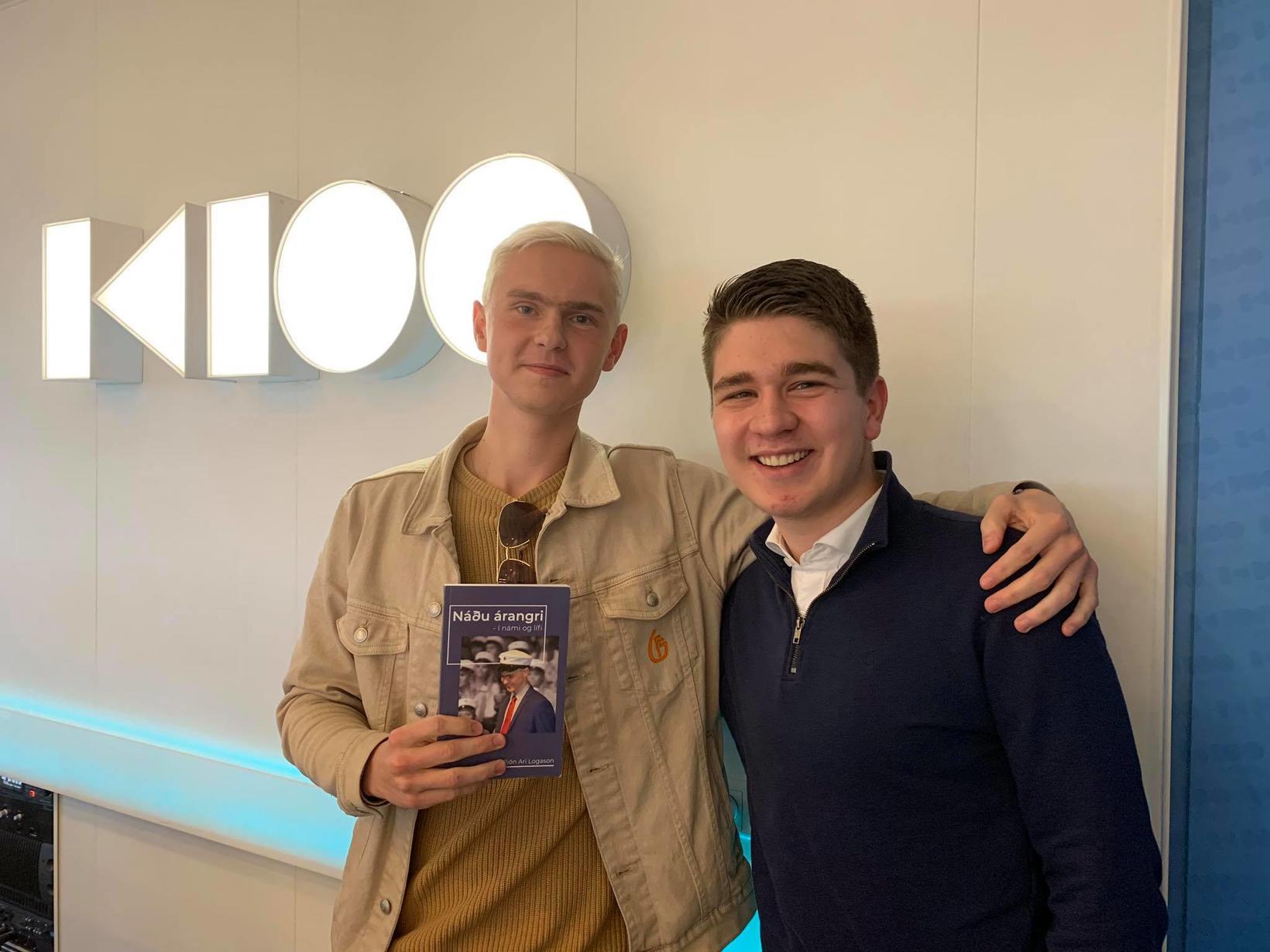 Guðjón Ari og Eiður Axelsson Welding vekja athygli á mikilvægum …