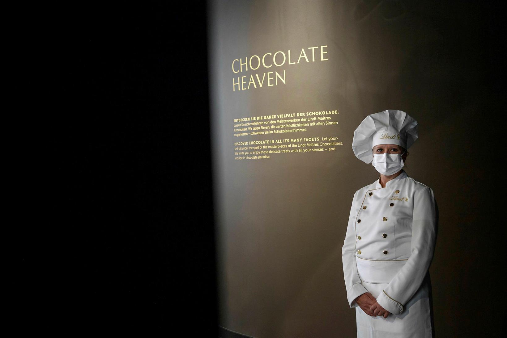 Súkkulaðihimnaríki í Lindt Home of chocolate.