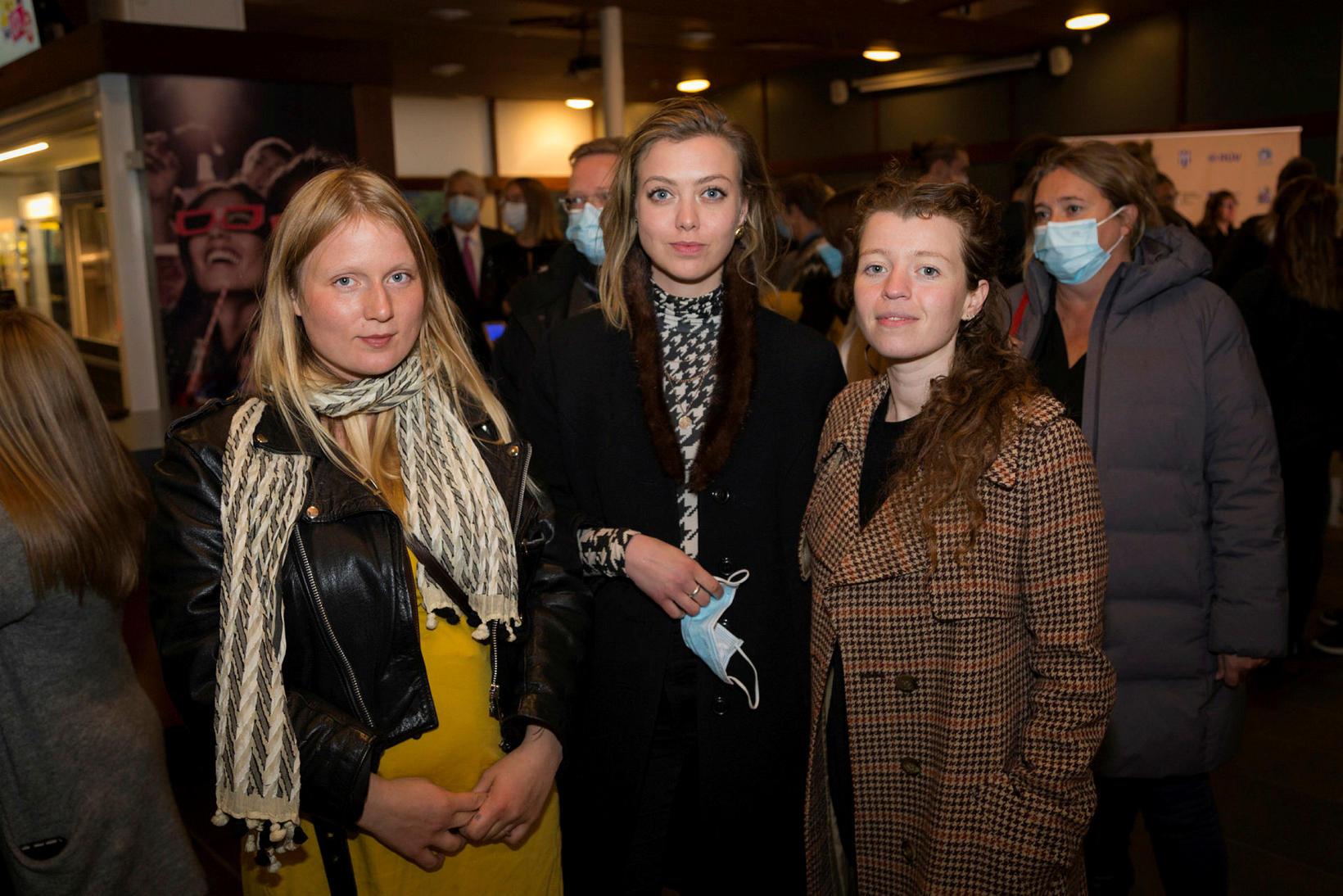 Katrína Mogensen, Nanna Nbs og Alexandra Baldursdóttir.