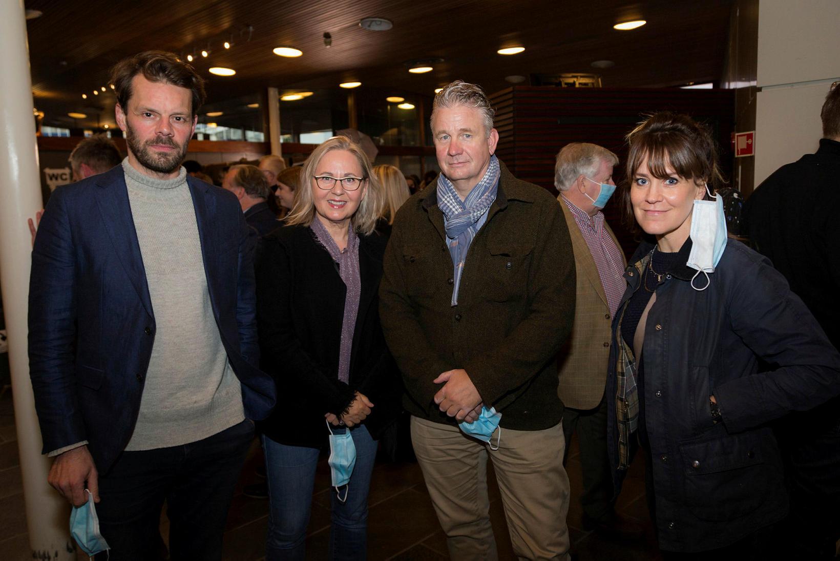 Björn Thors, Karen Þórólfsdóttir, Hilmar Jónsson og Unnur Ösp Stefánsdóttir.
