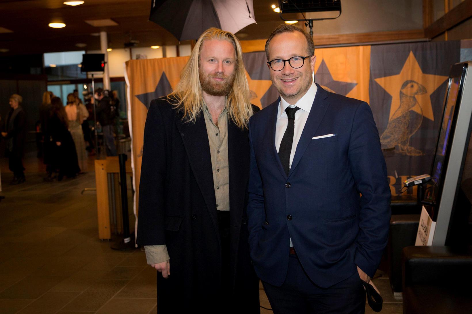 Högni Egilsson og Andri Snær Magnason.