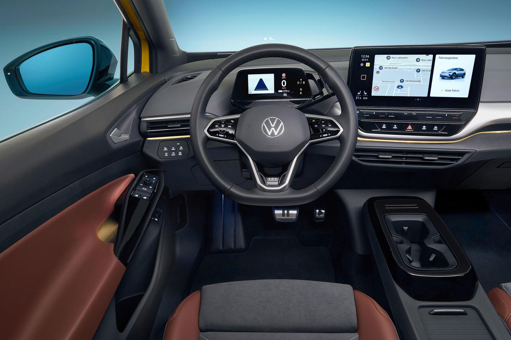 Nýi rafknúni fjölskyldubíllinn Volkswagen ID.4