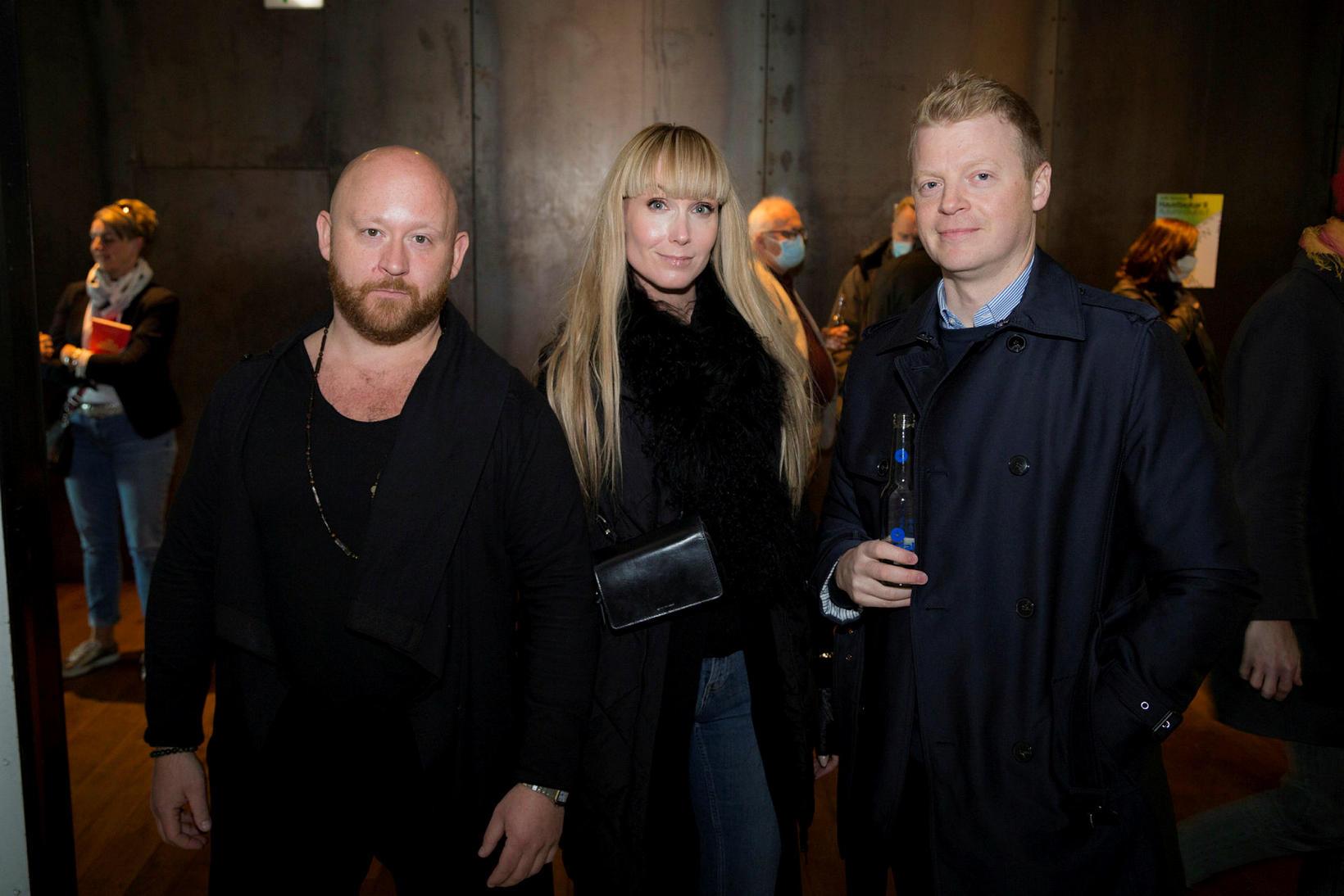 Þorvaldur Þór Þorvaldsson, Gulla Bjarna og Ellert Guðjónsson.