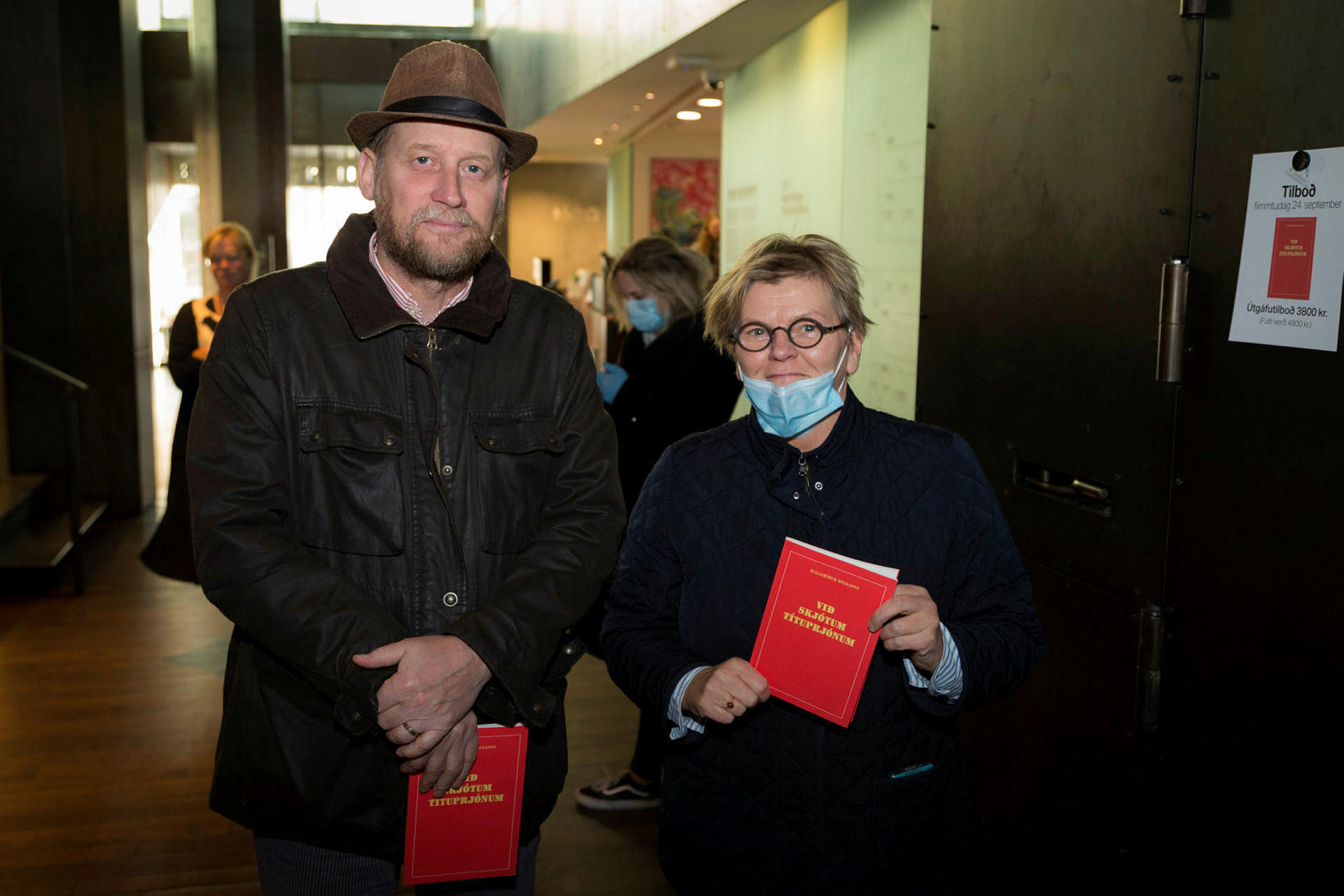 Páll Valsson og Nína Helgadóttir.