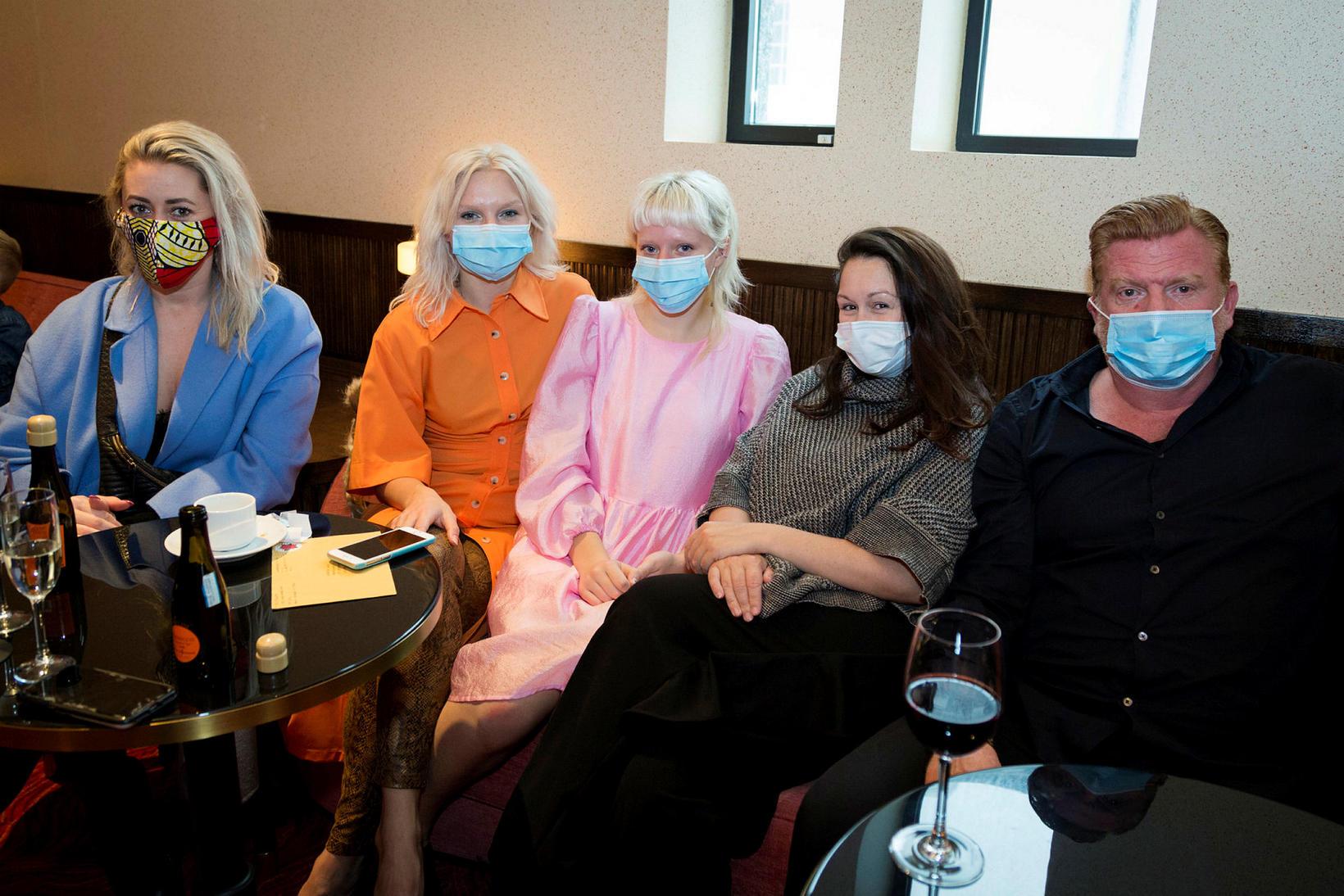 Hildur Ketilsdóttir, Brynhildur Karlsdóttir, Álfheiður Karlsdóttir, Chantelle Carey og Þorsteinn …