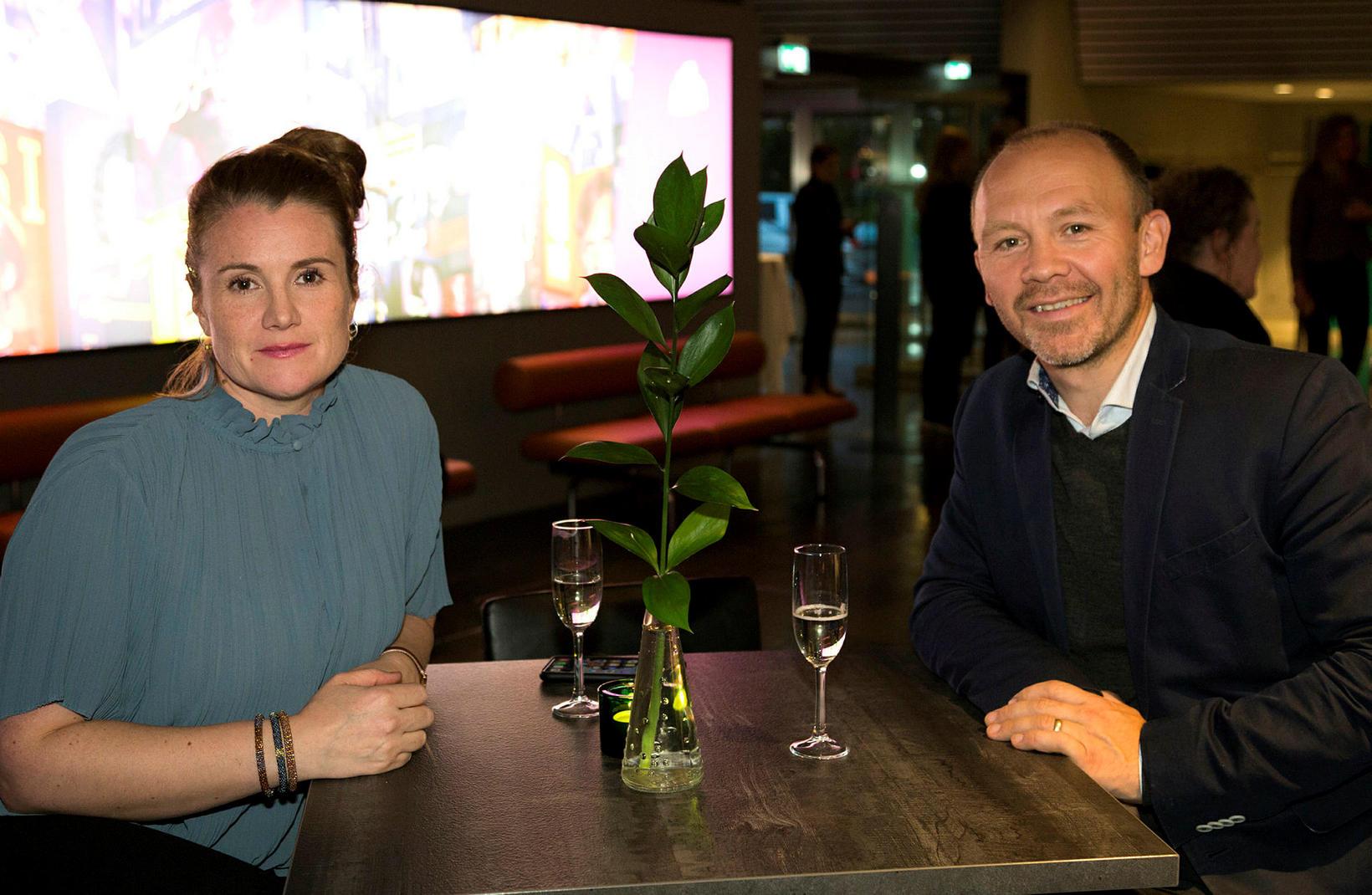 Anna Kristrún Gunnarsdóttir og Styrmir Óskarson.