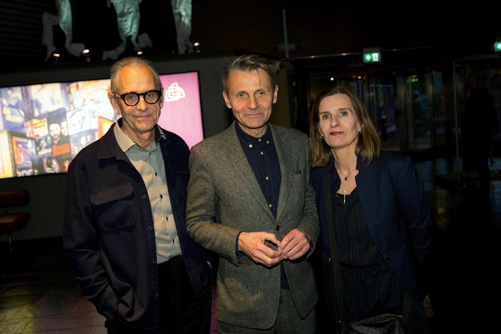 Páll Baldvin Baldvinsson, Haraldur Jónsson og Katrín Ingvadóttir.