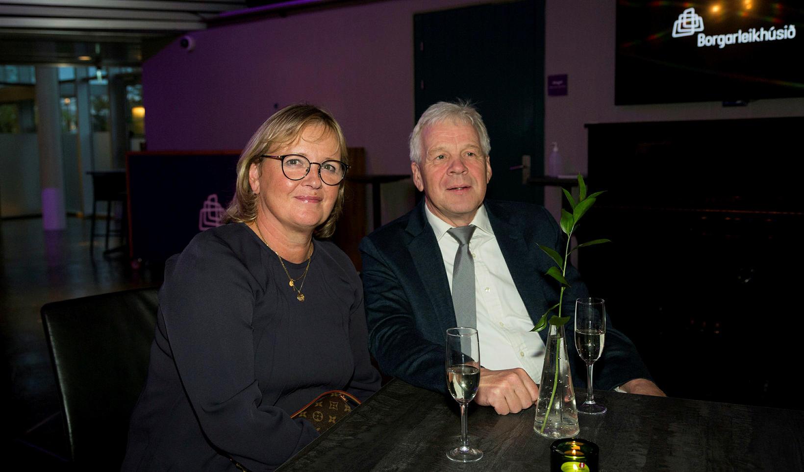 Guðleif Helgadóttir og Haraldur Sigurðsson.