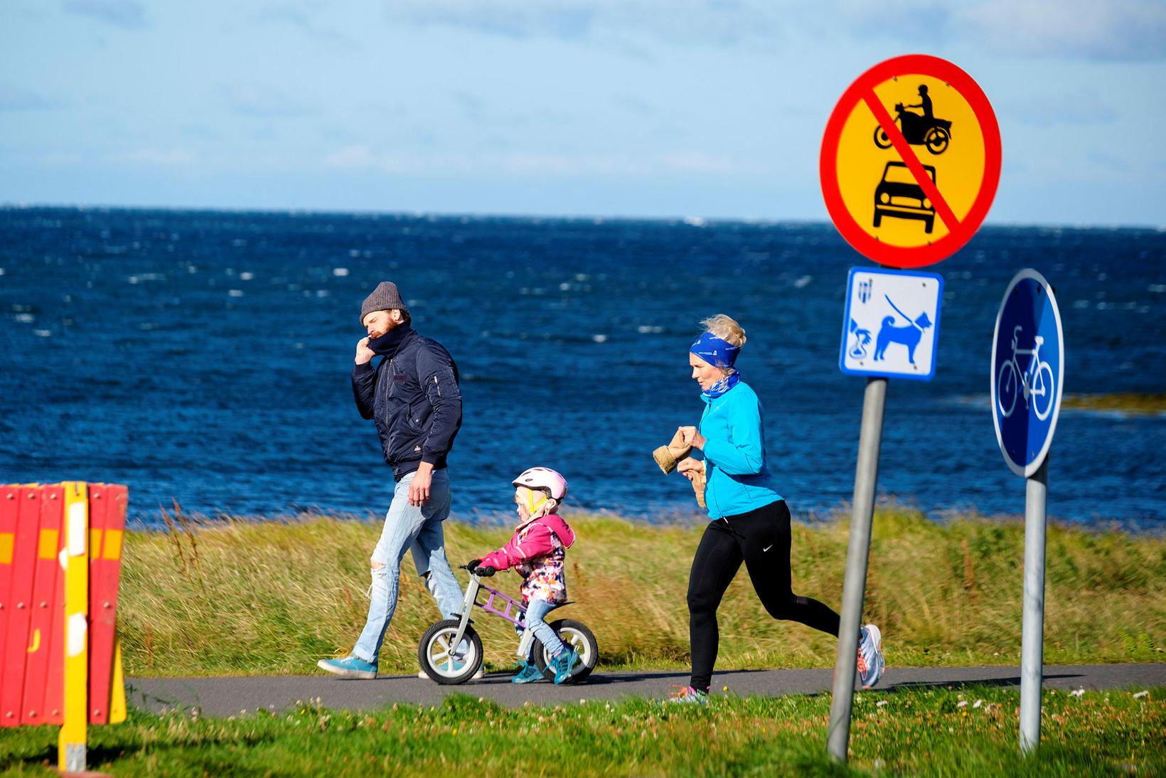Um 90% mæðra fullnýta nú þann hluta fæðingarorlofsins sem móðir …
