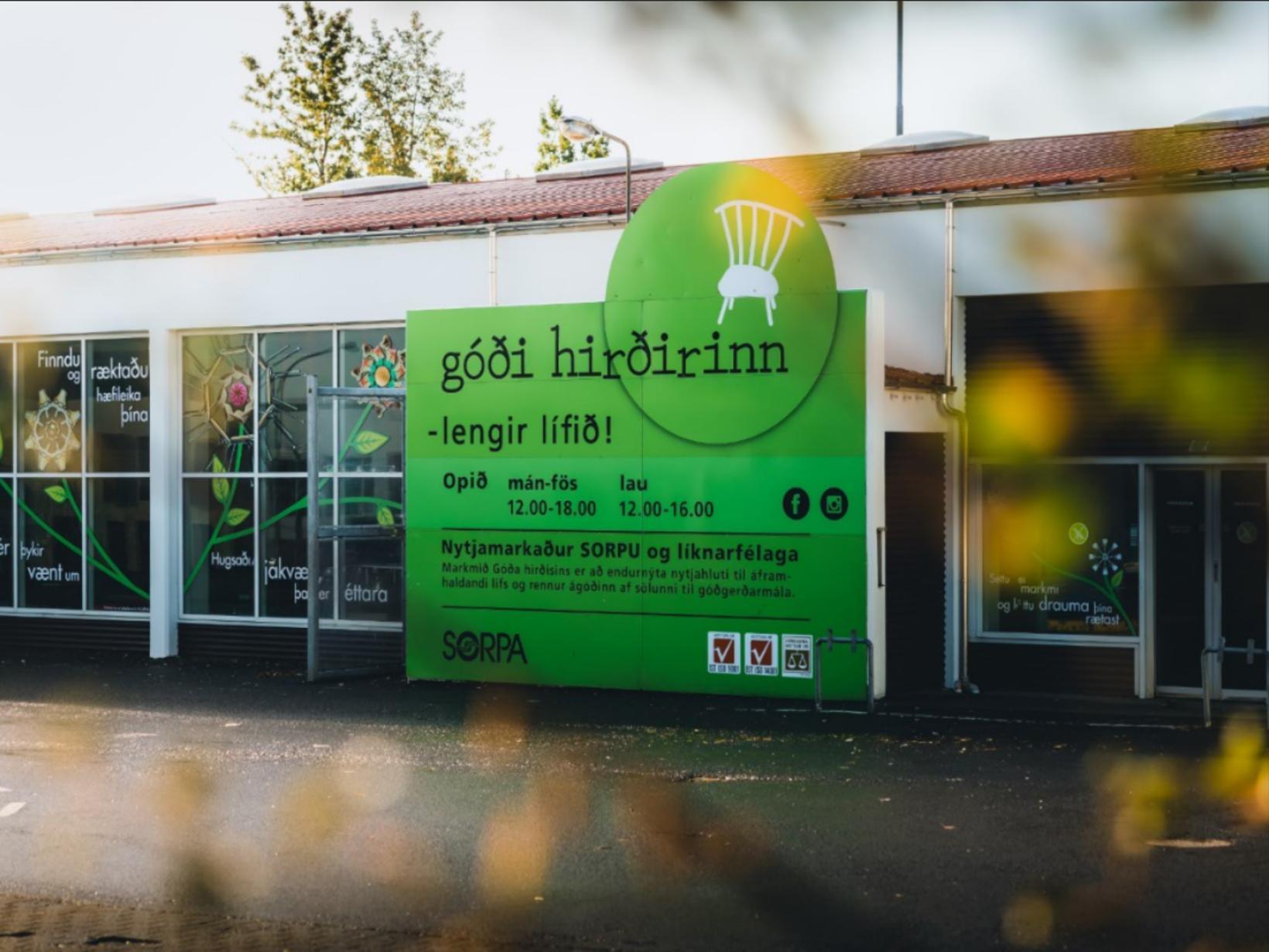 Netverslun Góða hirðisins hefur fengið góðar viðtökur.
