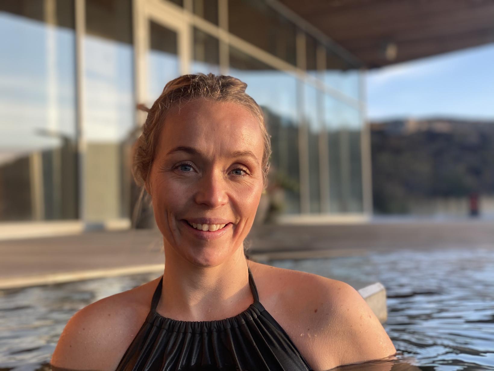 Heiður Vigfúsdóttir er framkvæmdastjóri Vök Baths.