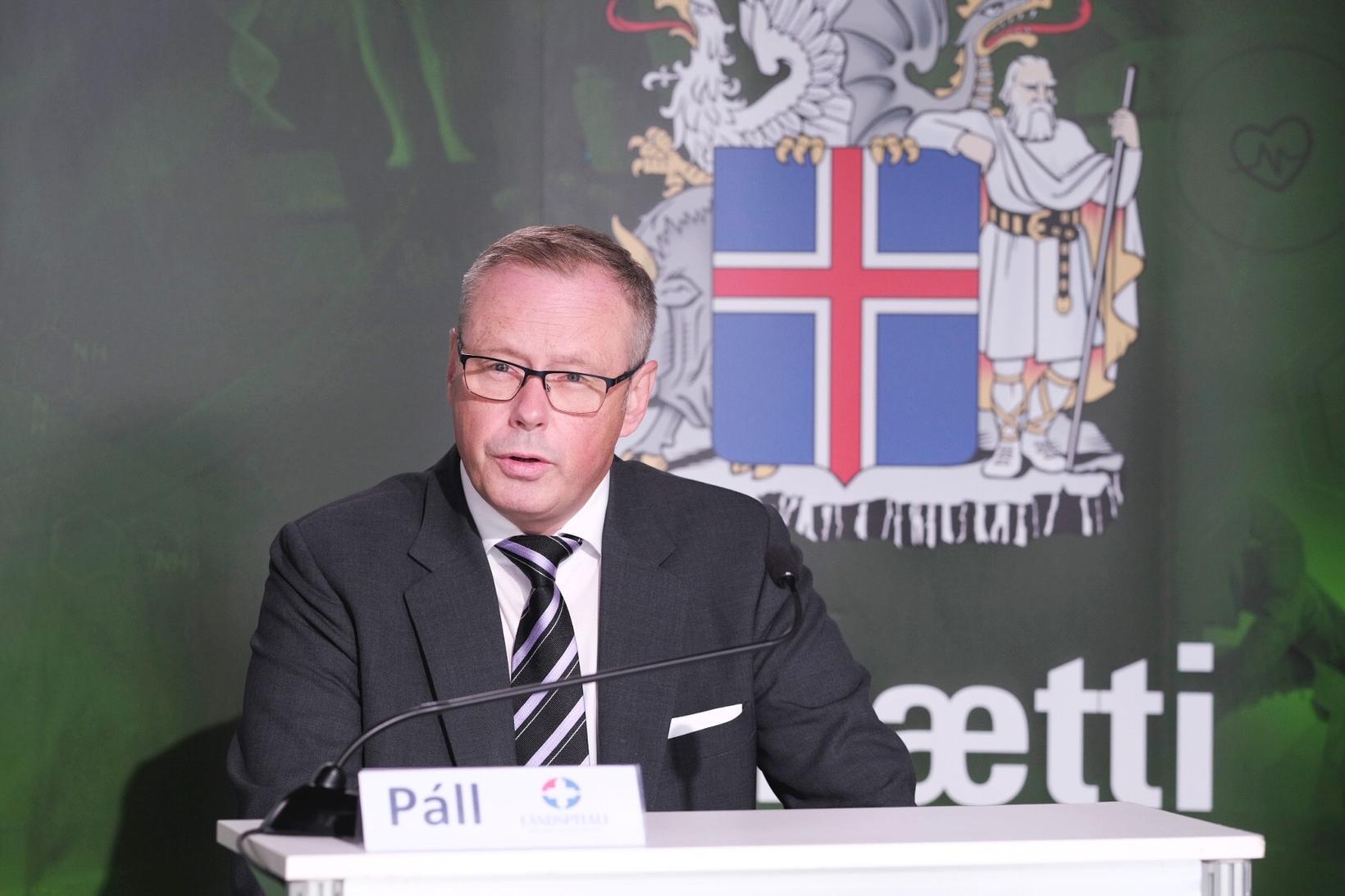 Páll Matthíasson, forstjóri Landspítalans.
