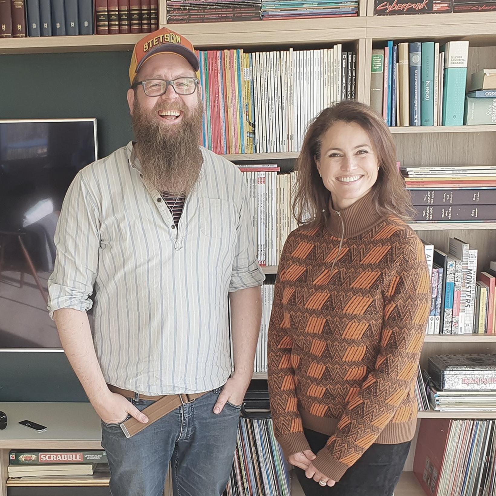Snæbjörn Ragnarsson og Inga Lind Karlsdóttir.