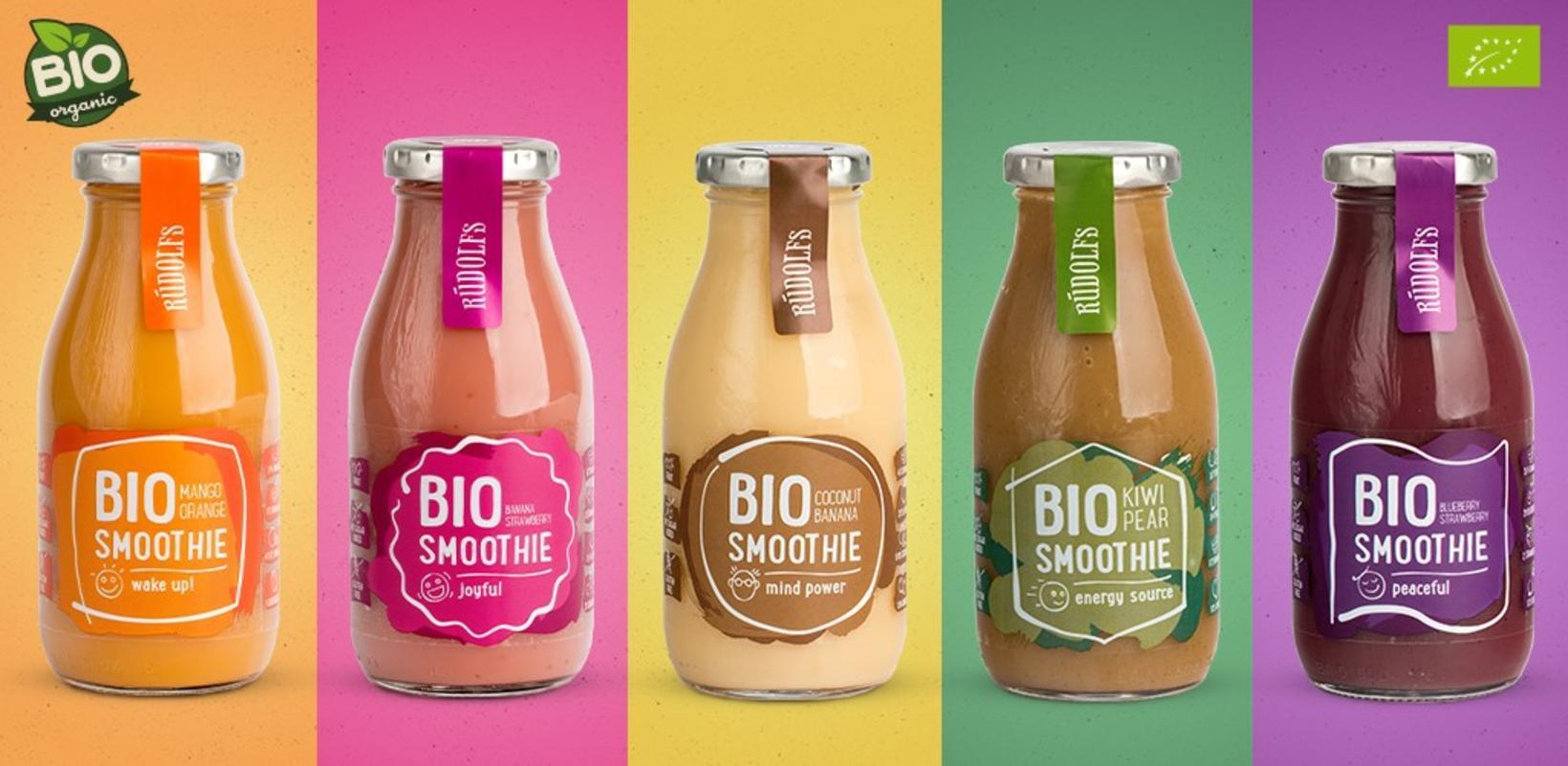 Bio smoothie-drykkirnir.