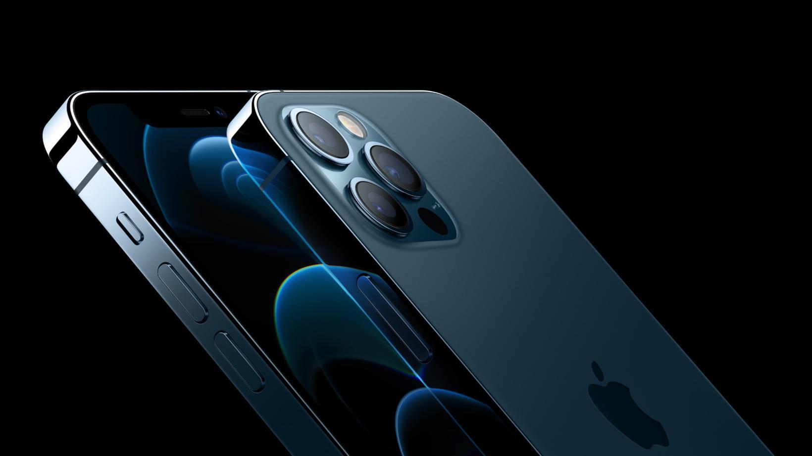 Nýi iPhone 12 fæst í ýmsum litum, þar á meðal …