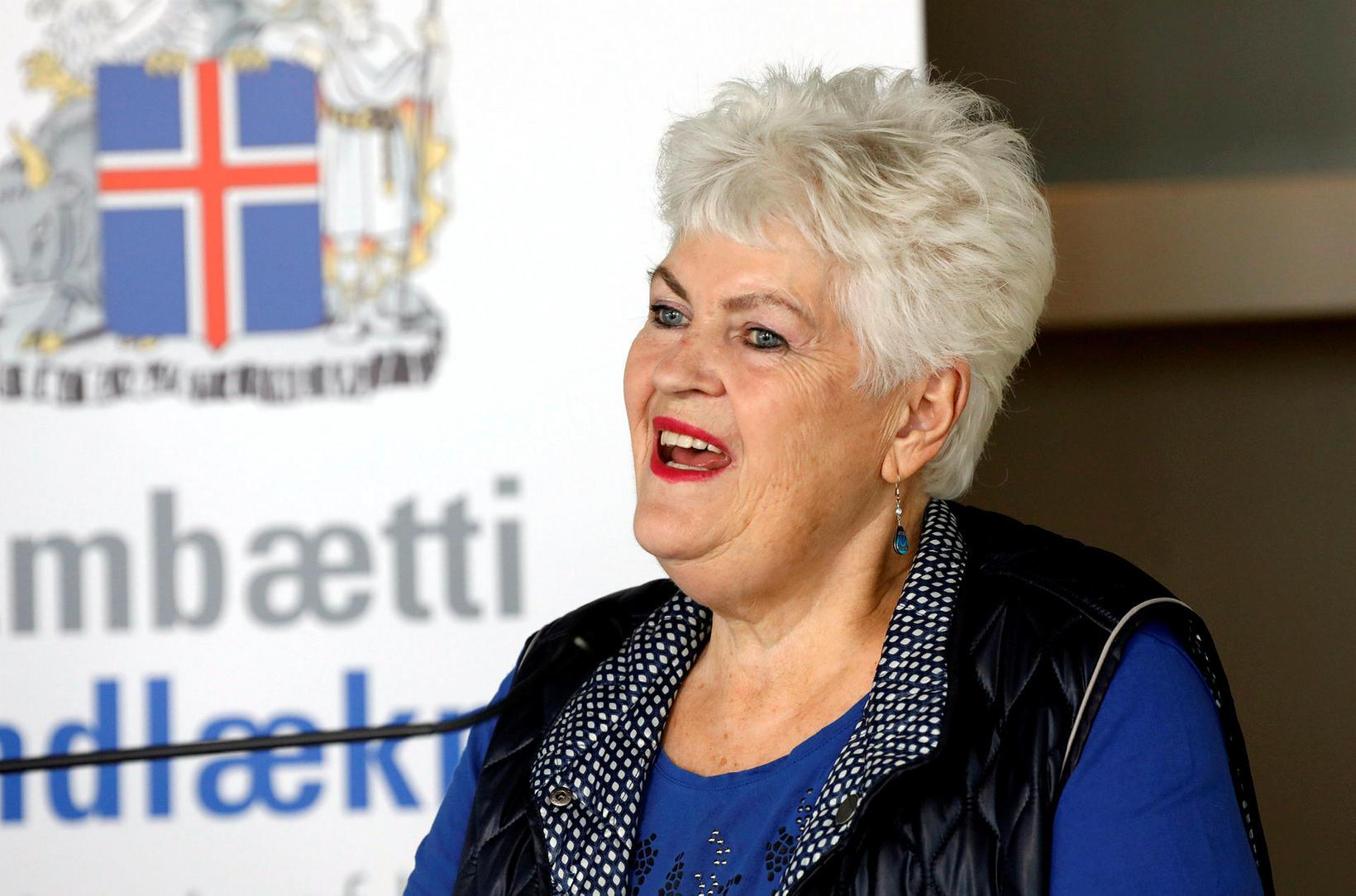 Þórunn Sveinbjörnsdóttir.