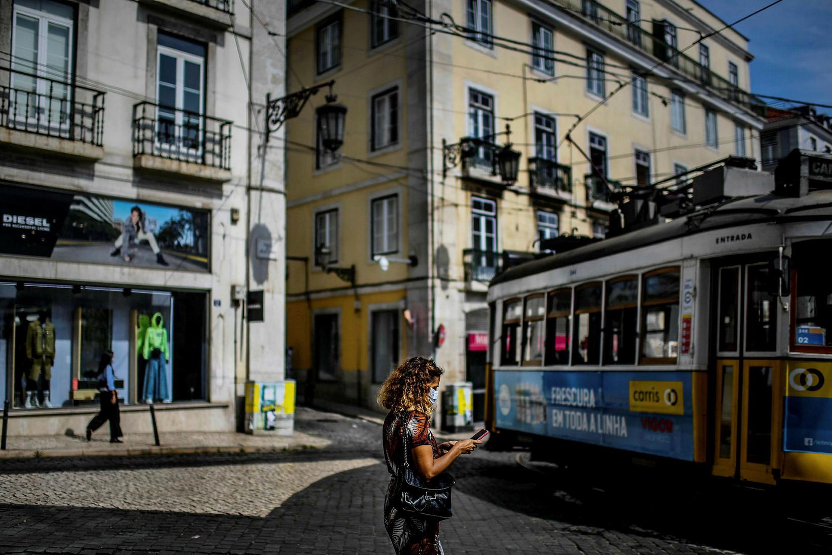 Bairro Alto-hverfið í Lissabon.