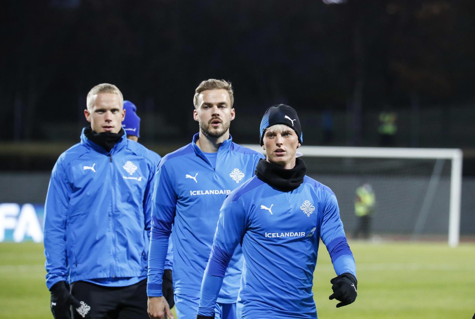 Hjörtur Hermannsson, Hólmar Örn Eyjólfsson og Albert Guðmundsson eru klárir …