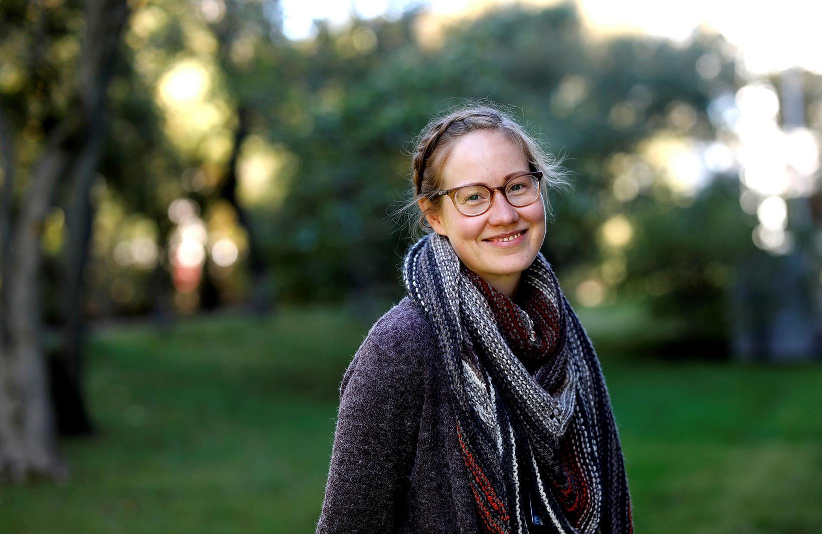 Rakel Ósk Reynisdóttir, verkefnisstjóri Spretts og fjölmenningarfulltrúi Háskóla Íslands, segir …
