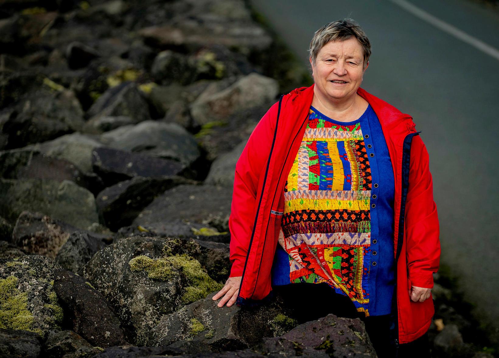 Ásrún Matthíasdóttir segir að vandinn byrji strax í framhaldsskóla því …