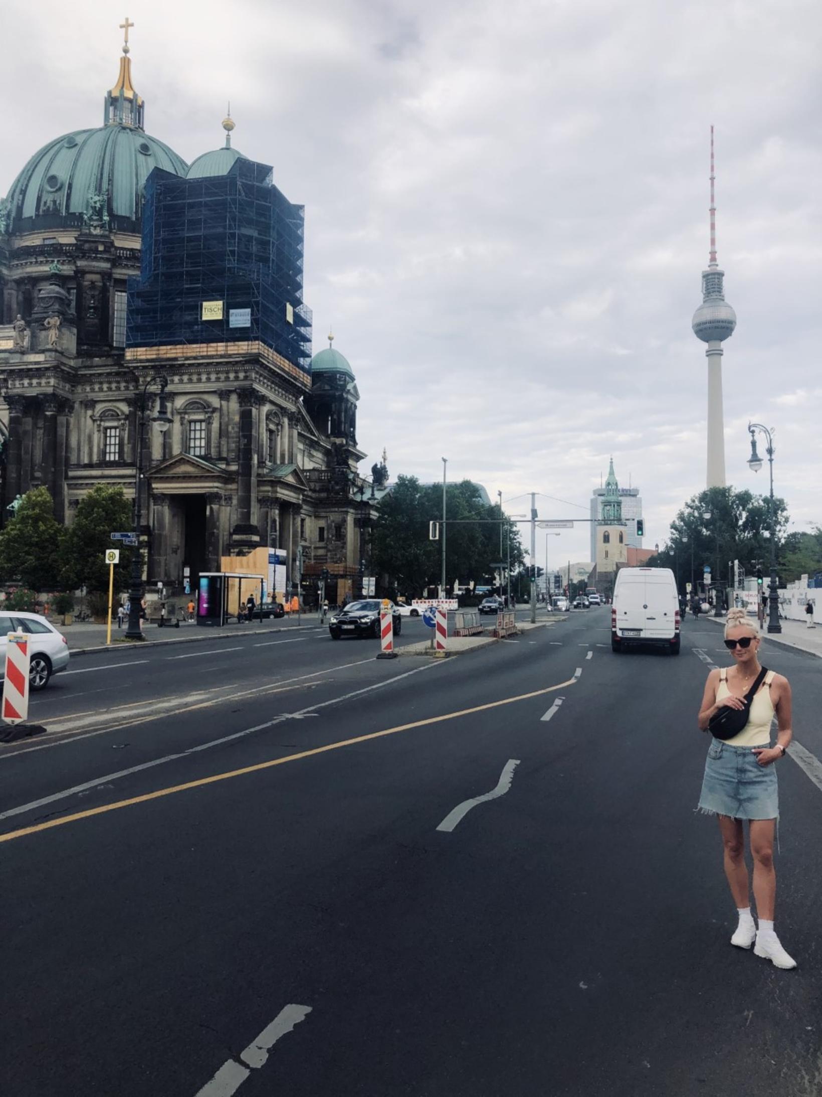 Í Berlín.