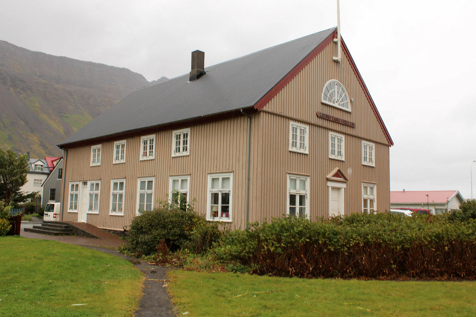 Búðin, the building that houses the doll collection.