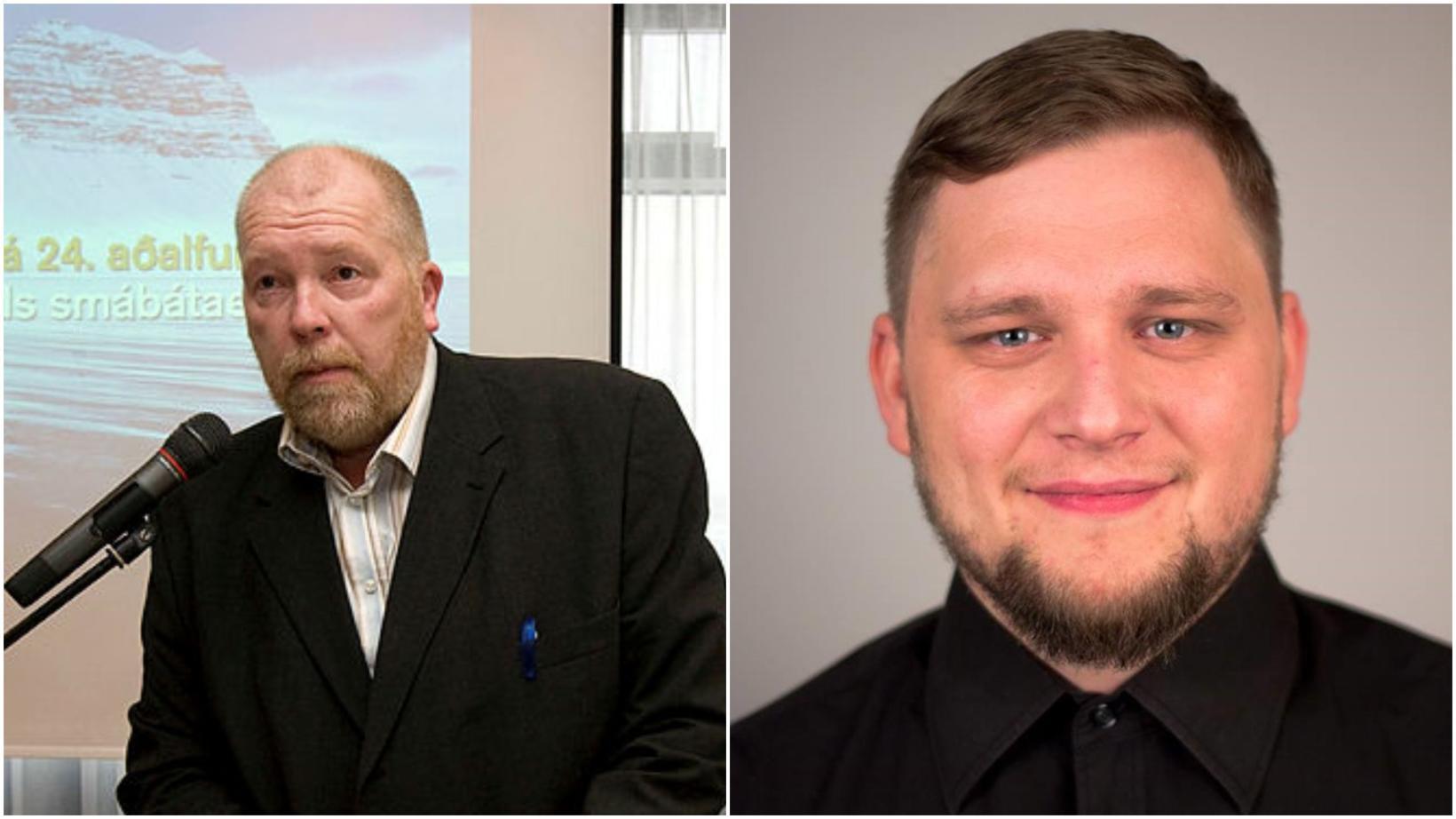 Frambjóðendurnir Arthur Bogason og Gunnar Ingiberg Guðmundsson.