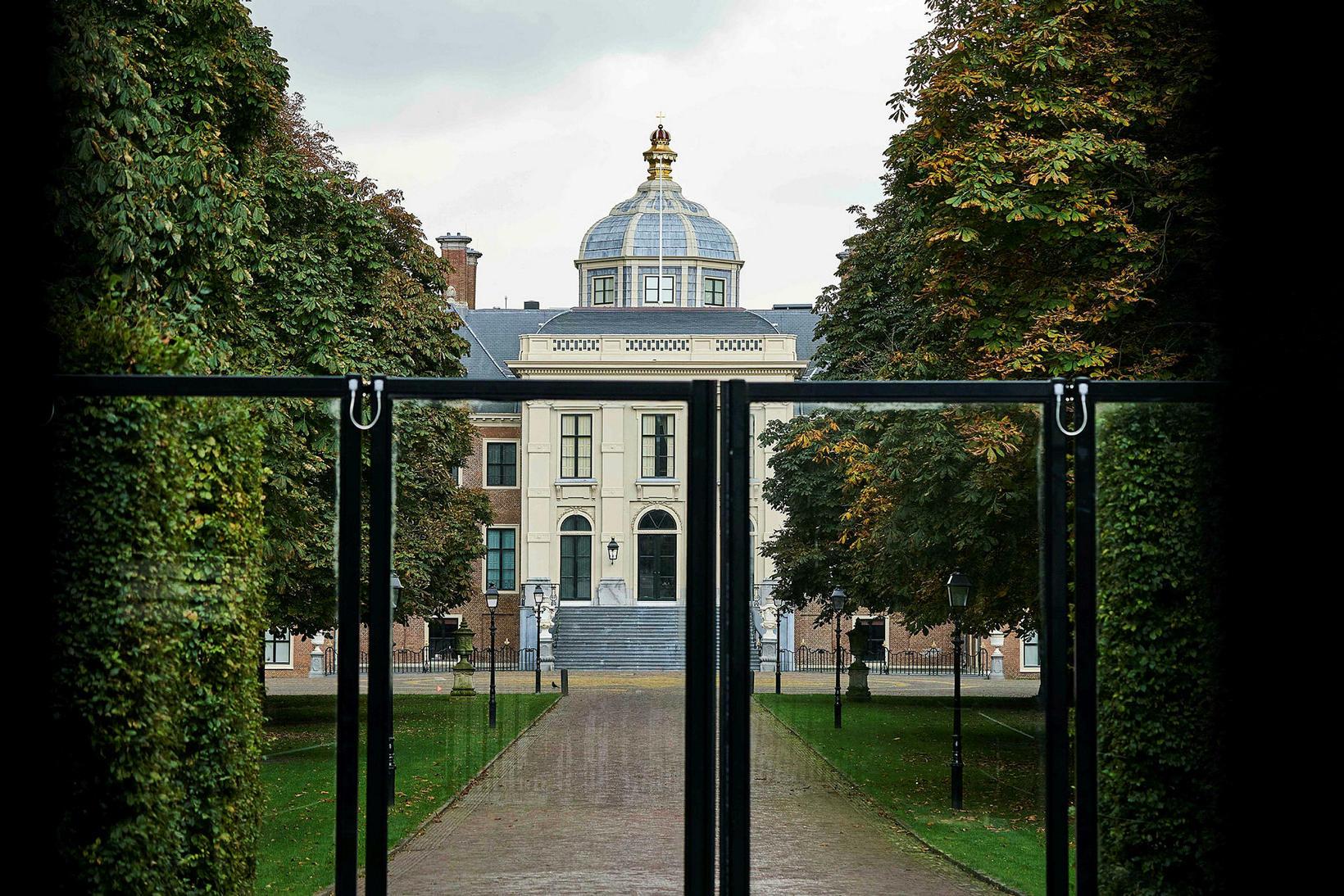 Konungshöllin í Haag.