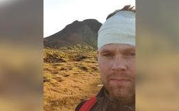 Benedikt Jakobsson, once he had descended the mountain.