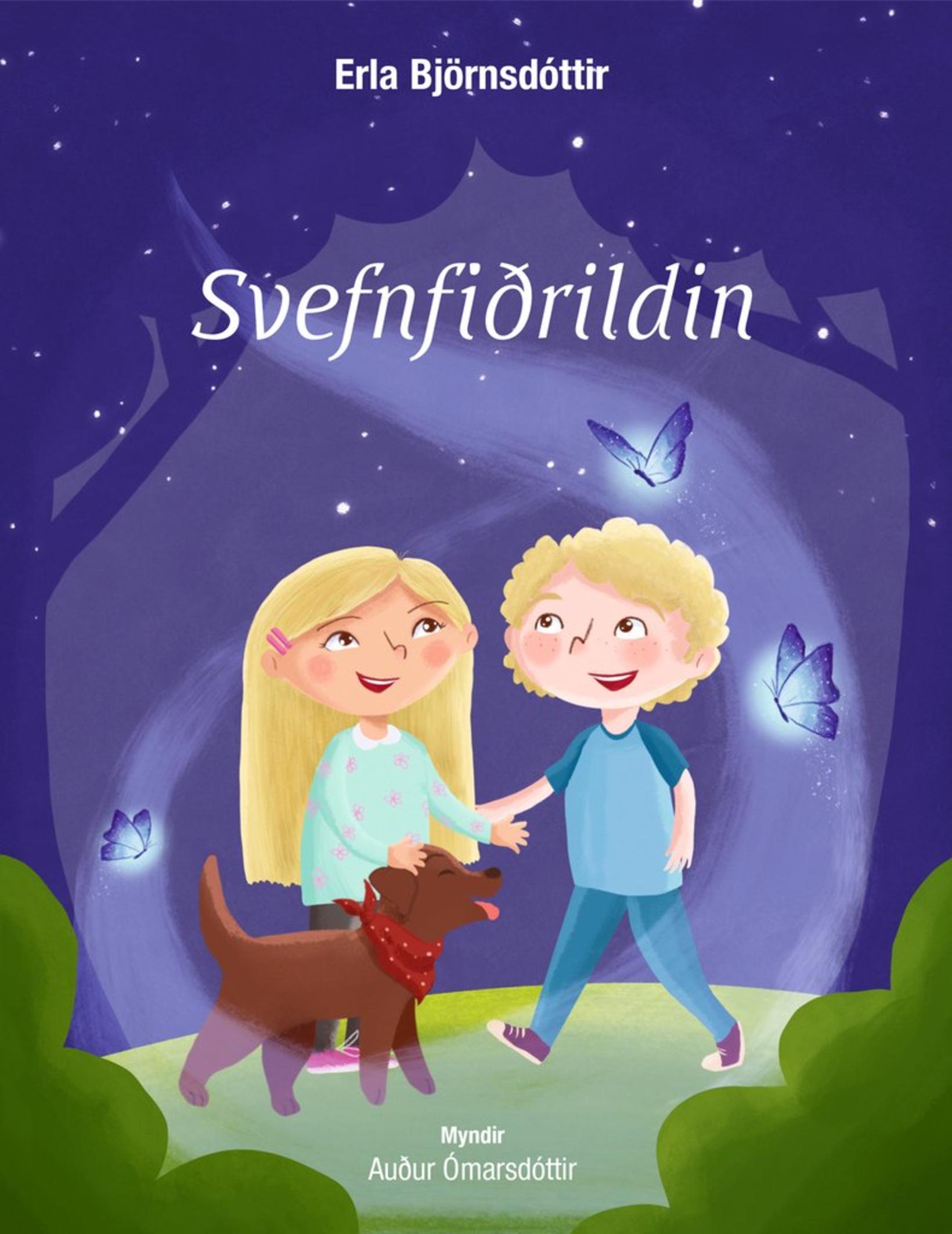 Svefnfiðrildin fjalla um Sunnu og Bjart.