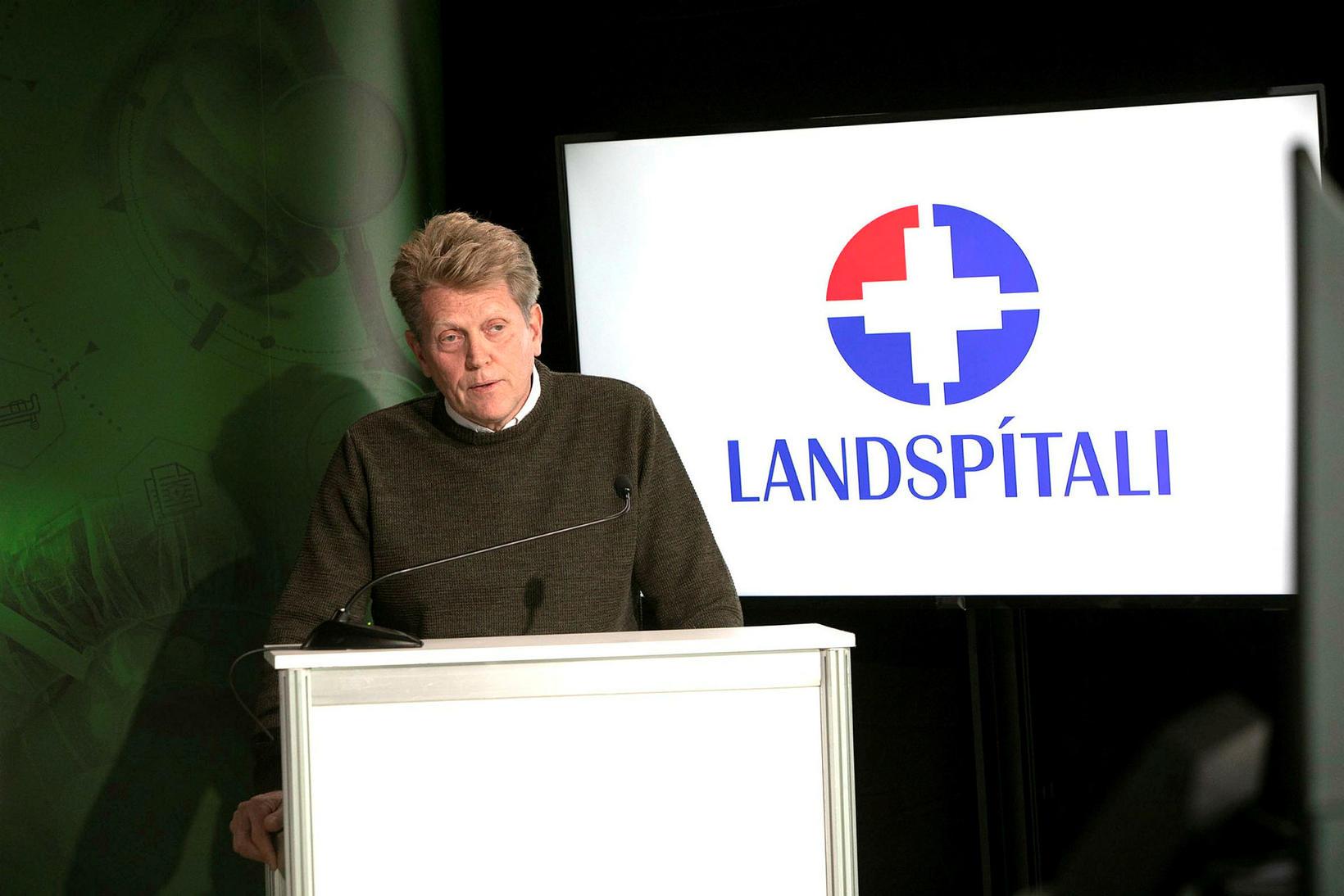 Már Kristjánsson, yfirlæknir smitsjúkdómadeildar og formaður farsóttarnefndar Landspítala.