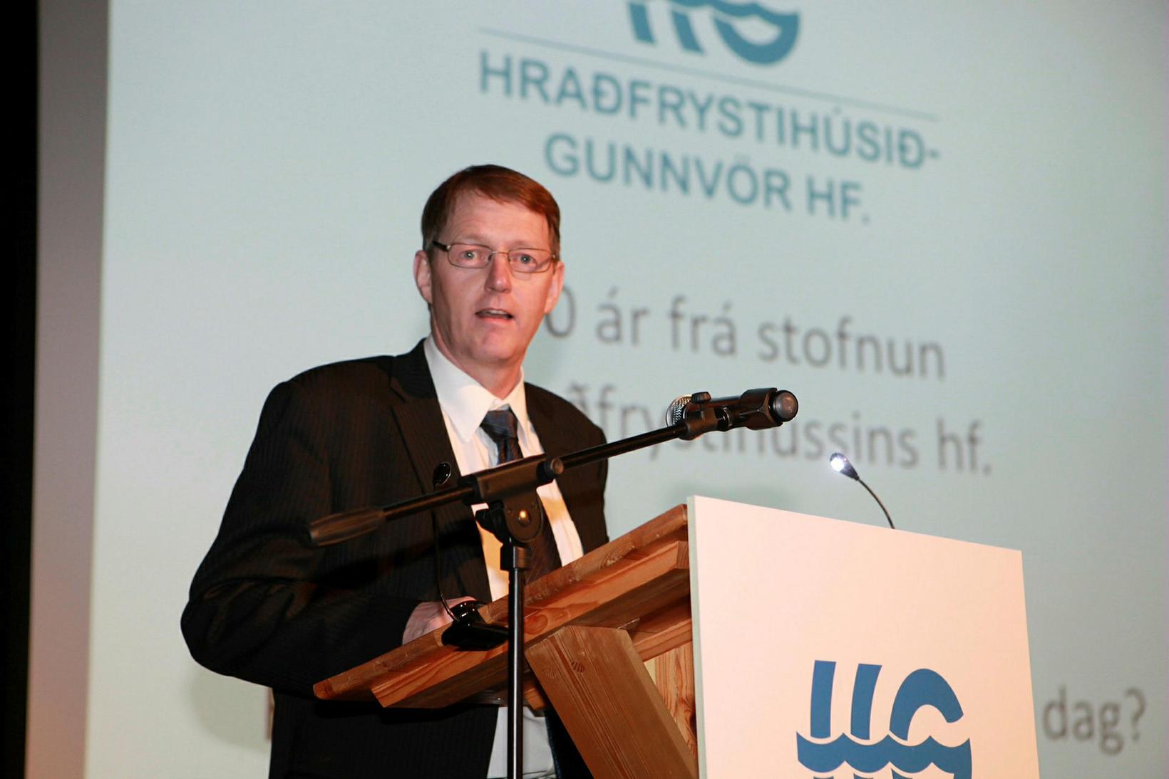 Einar Valur Kristjánsson, framkvæmdarstjóri Hraðfrystihússins Gunnvarar.
